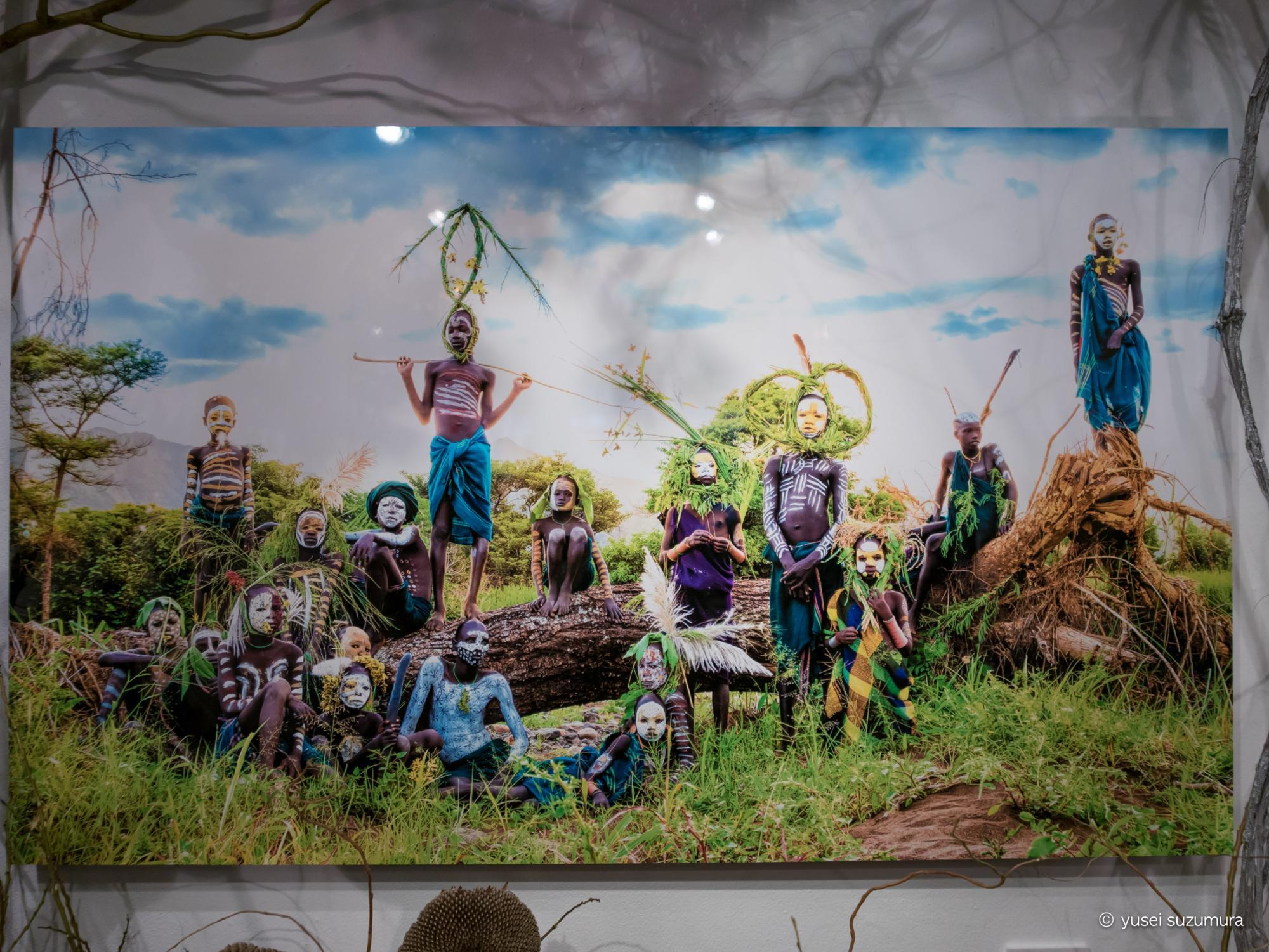 ヨシダナギ写真展「Suri COLLECTION~世界一ファッショナブルな民族の極彩~」に行ってきた。