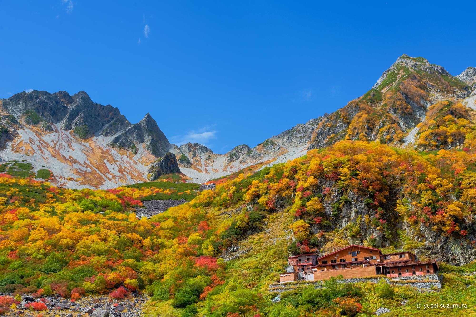 上高地から北穂高岳を登る。今年の涸沢も絶景でした。
