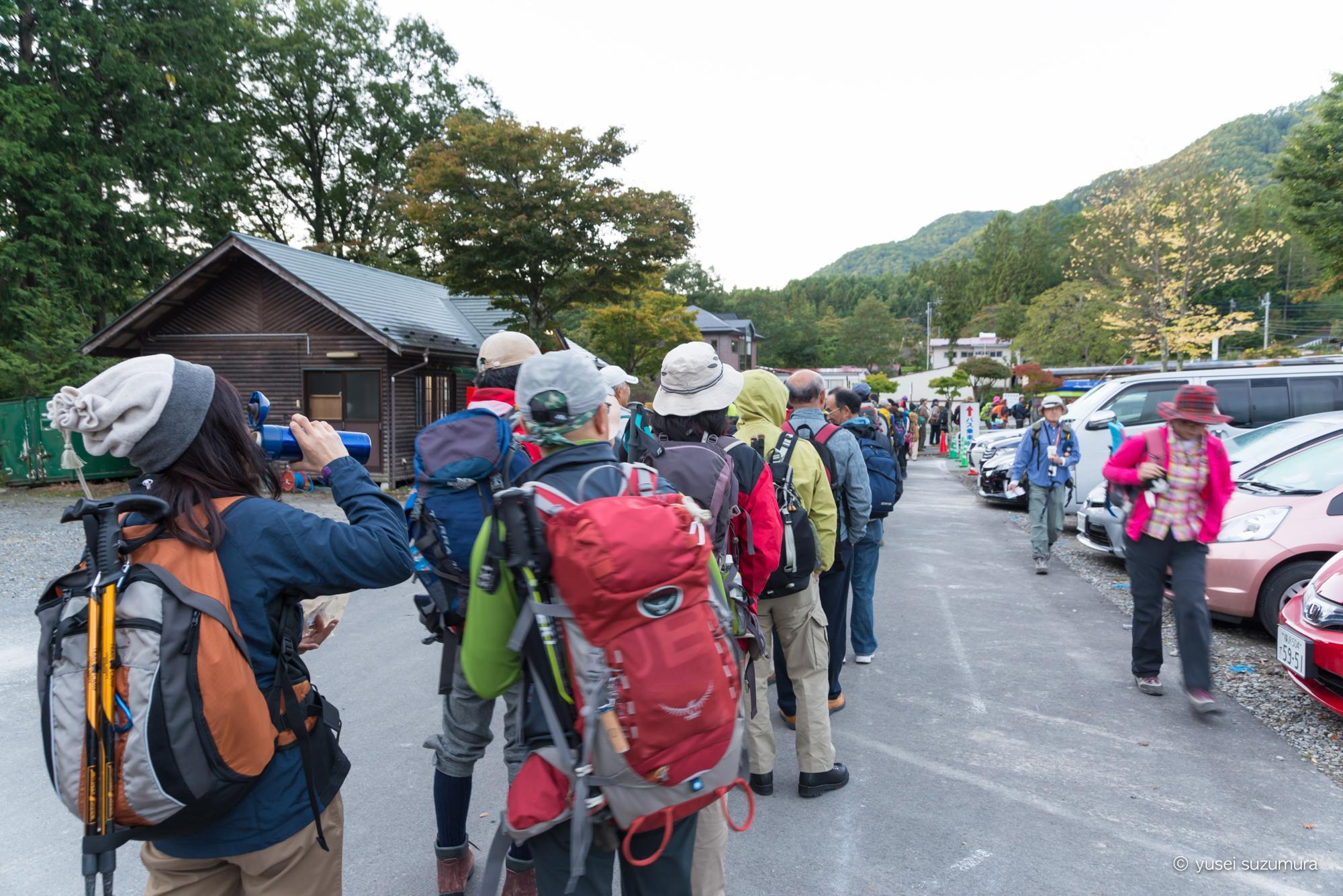駒ケ岳ロープウェイ 行列