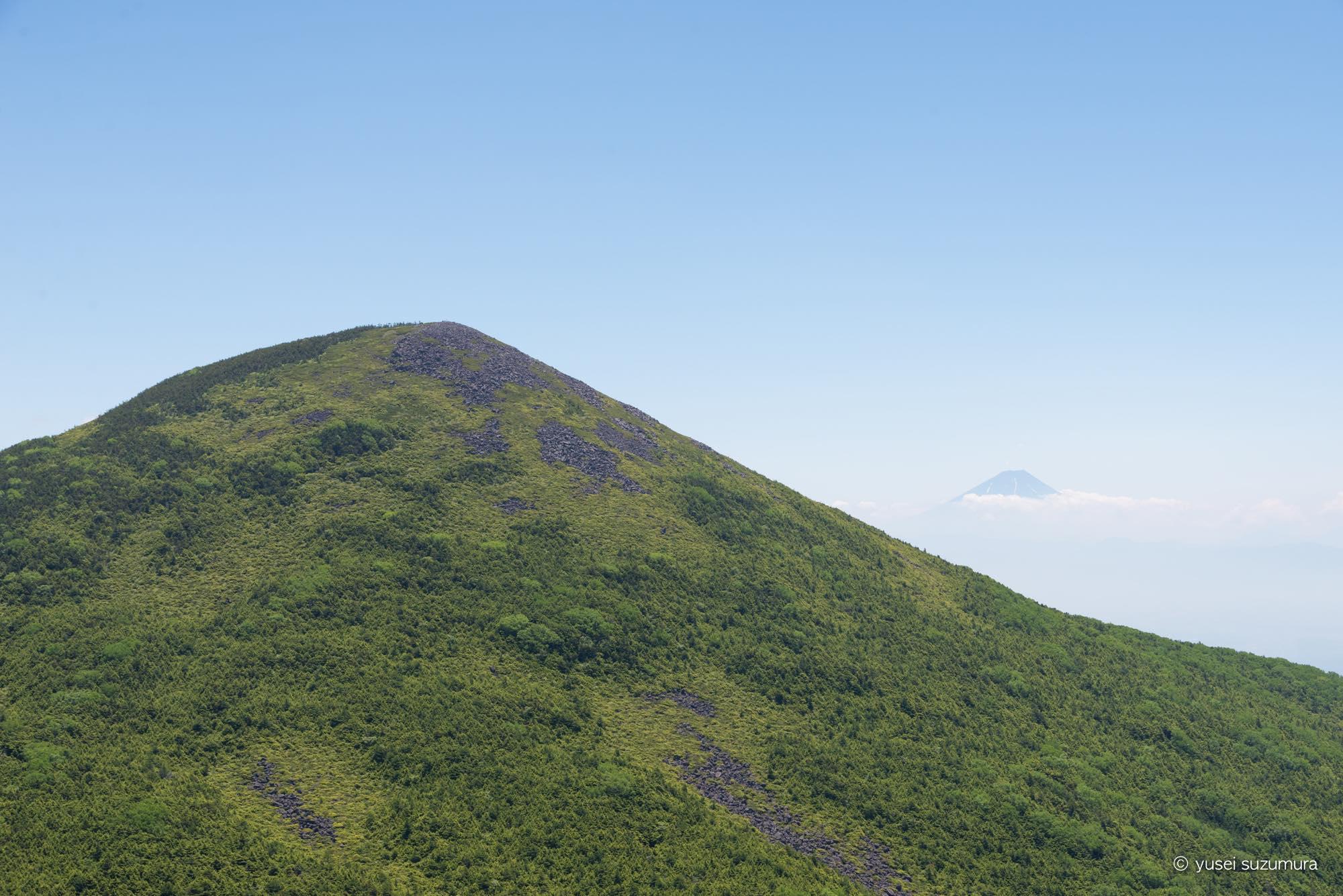 西岳 富士山 八ヶ岳