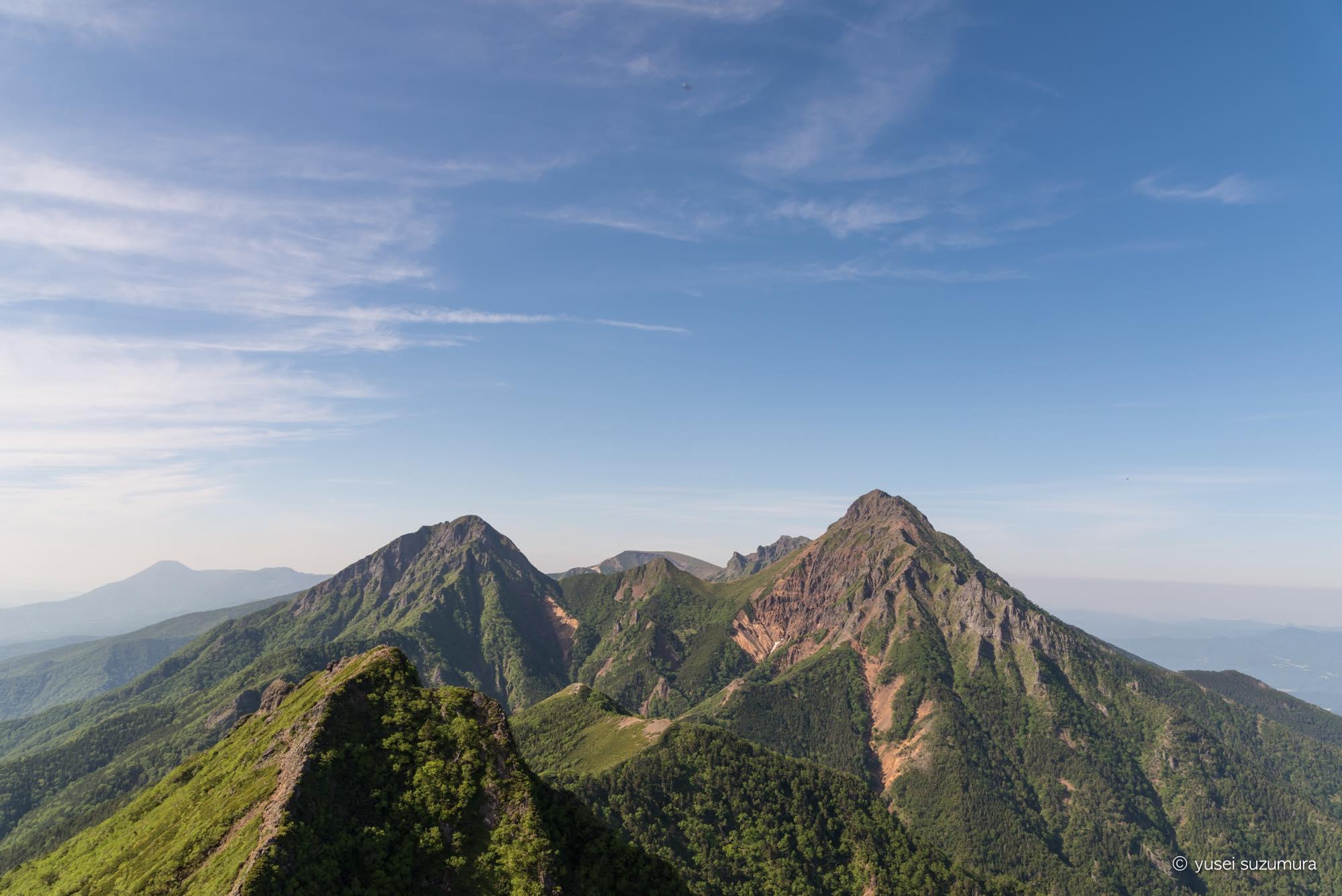 初夏の八ヶ岳を登る。