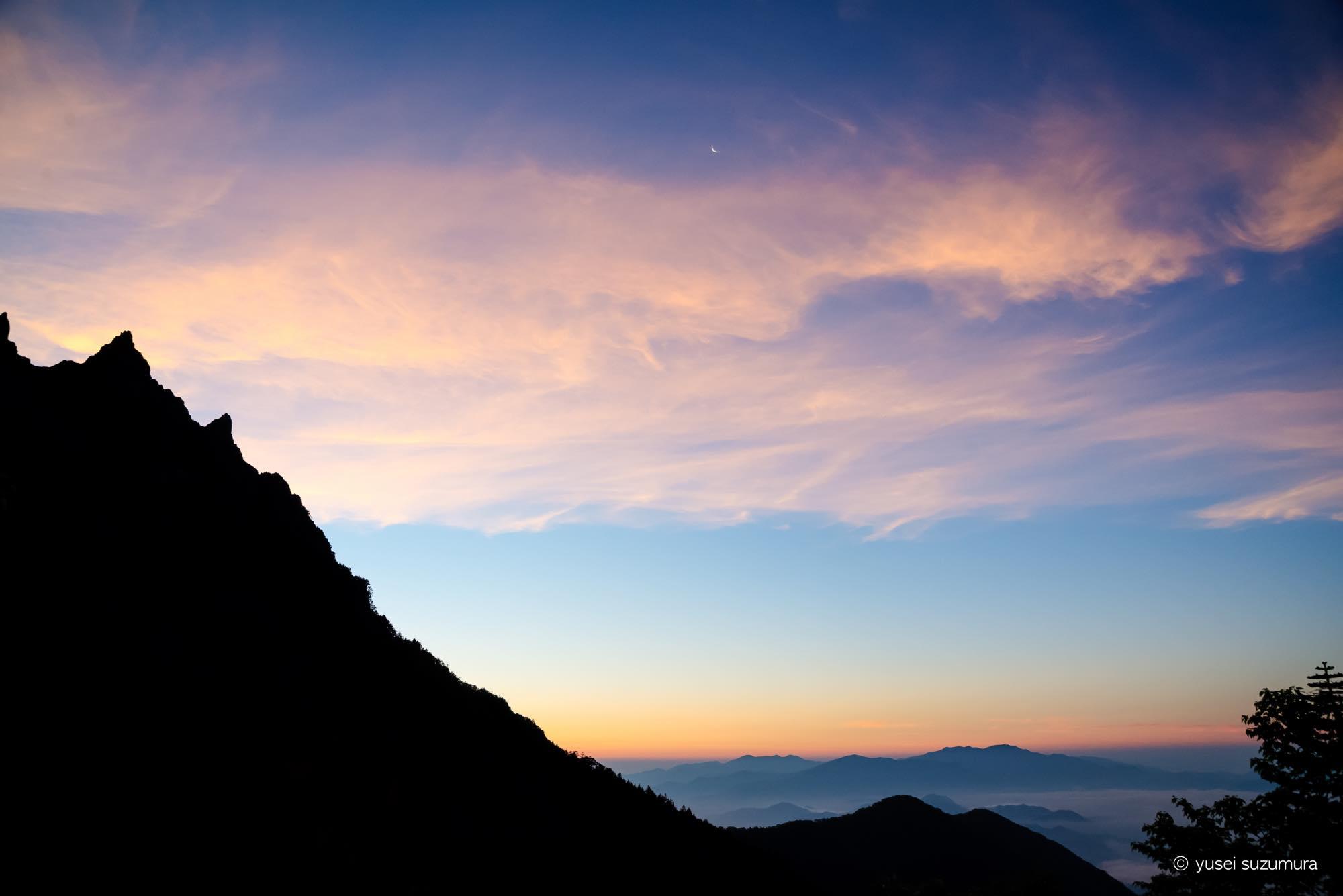 朝焼け 八ヶ岳