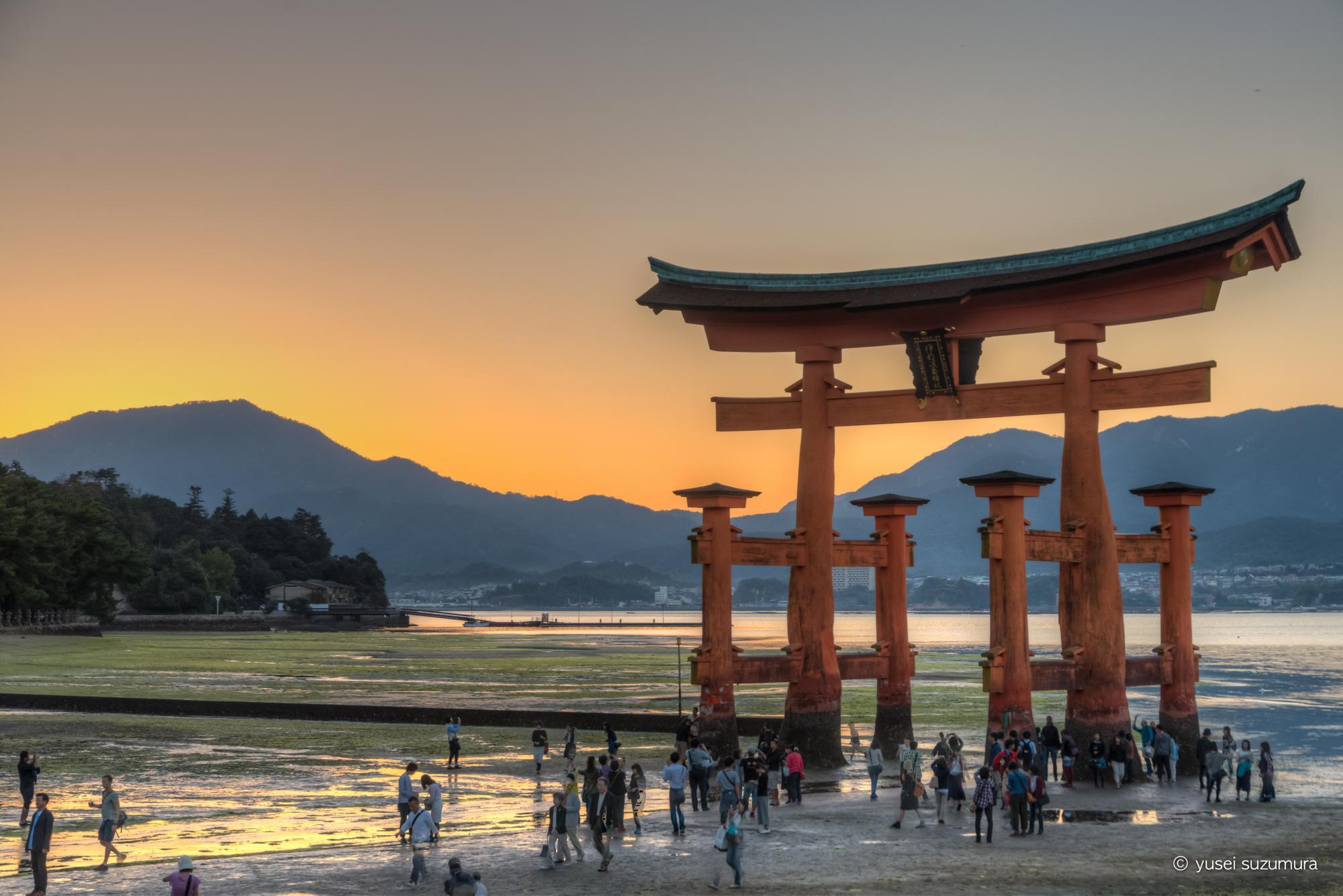 広島で世界遺産を二つ回る。