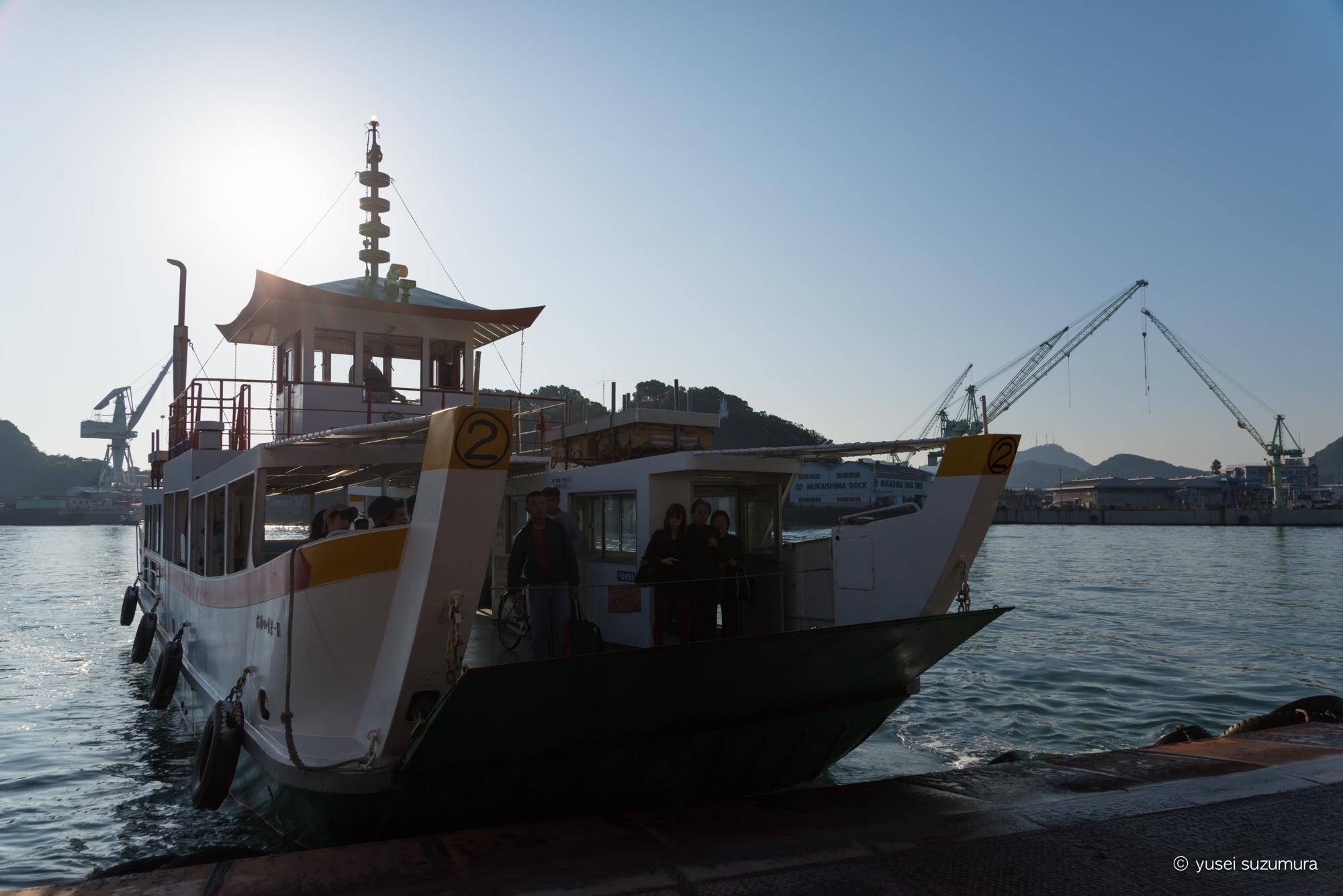 尾道 渡し船