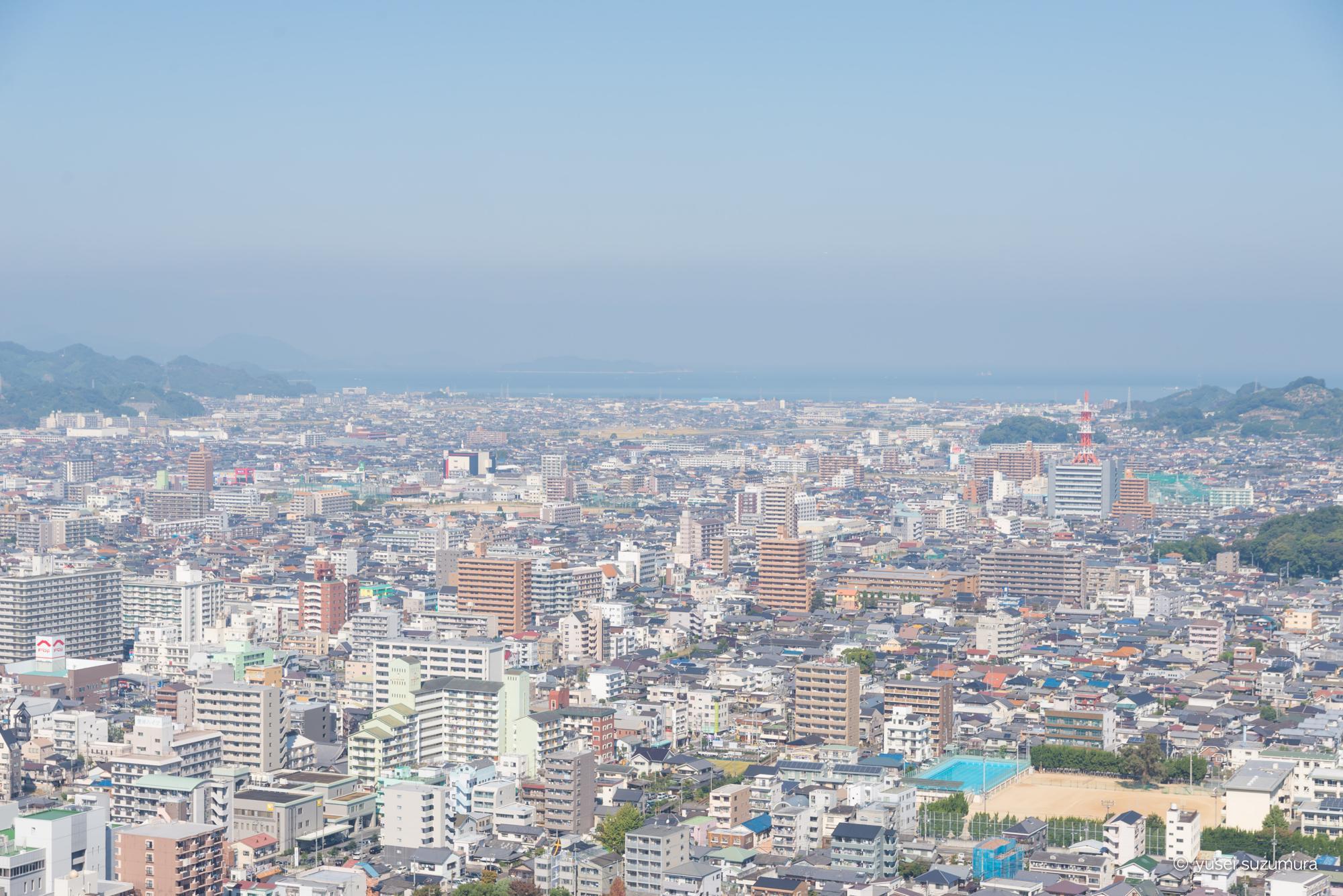 松山城 天守閣 景色