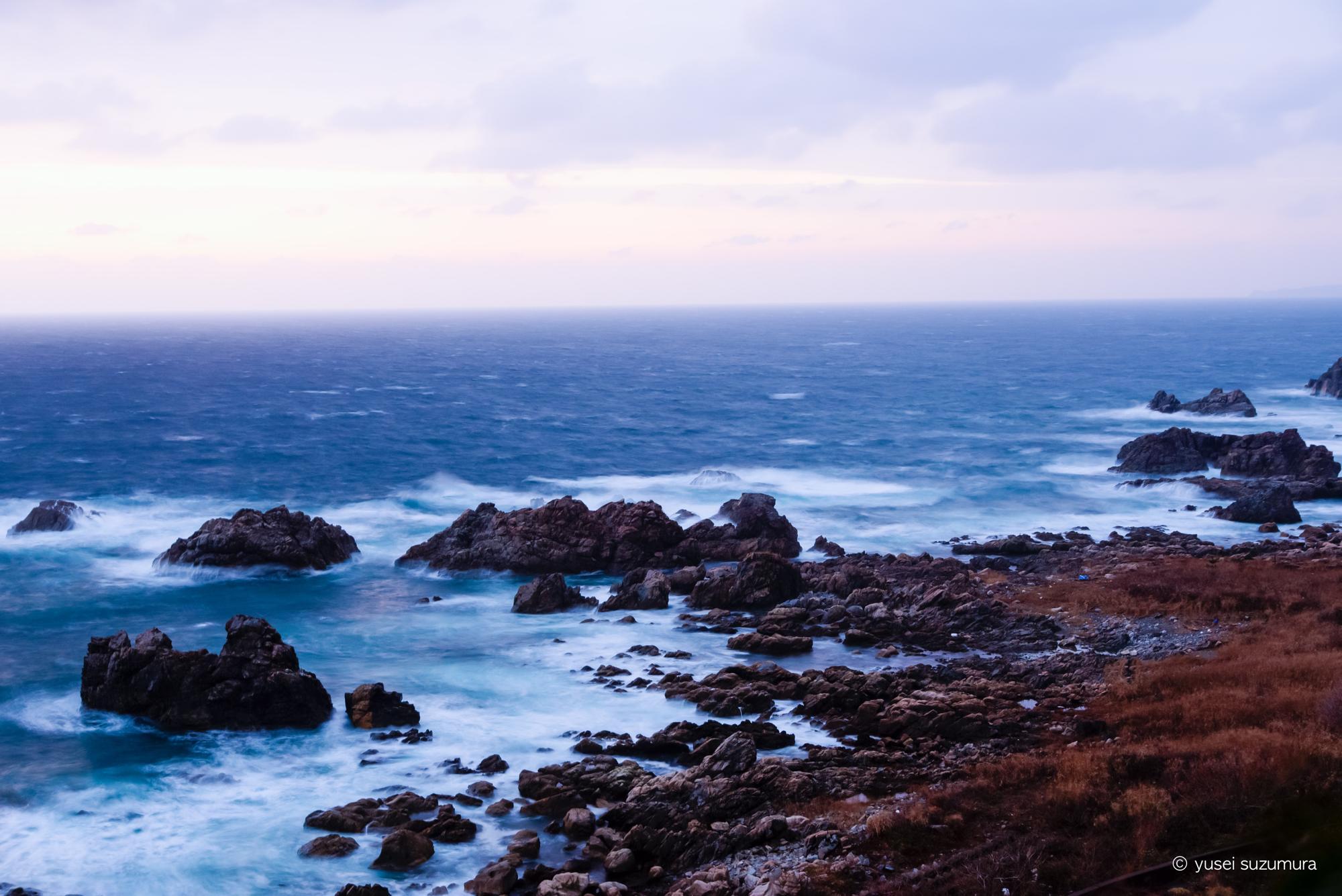 千畳敷 日本海