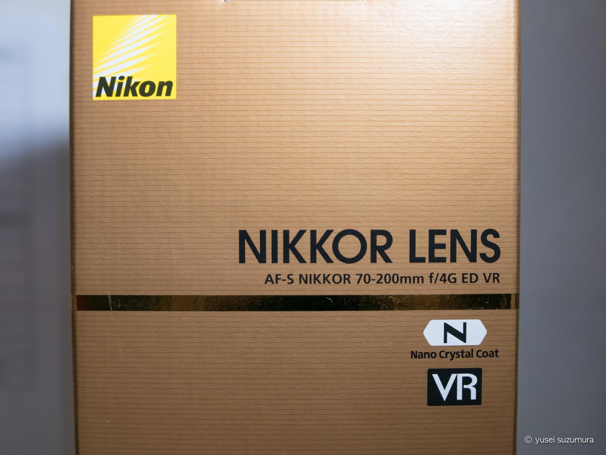 AF-S NIKKOR 70-200mm f/4G ED VR 箱
