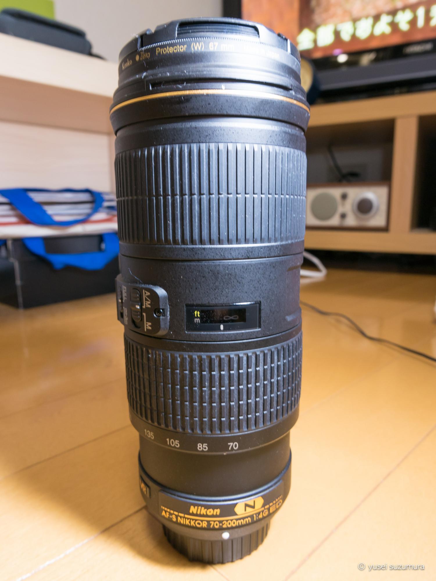 AF-S NIKKOR 70-200mm f/4G ED VR 全体