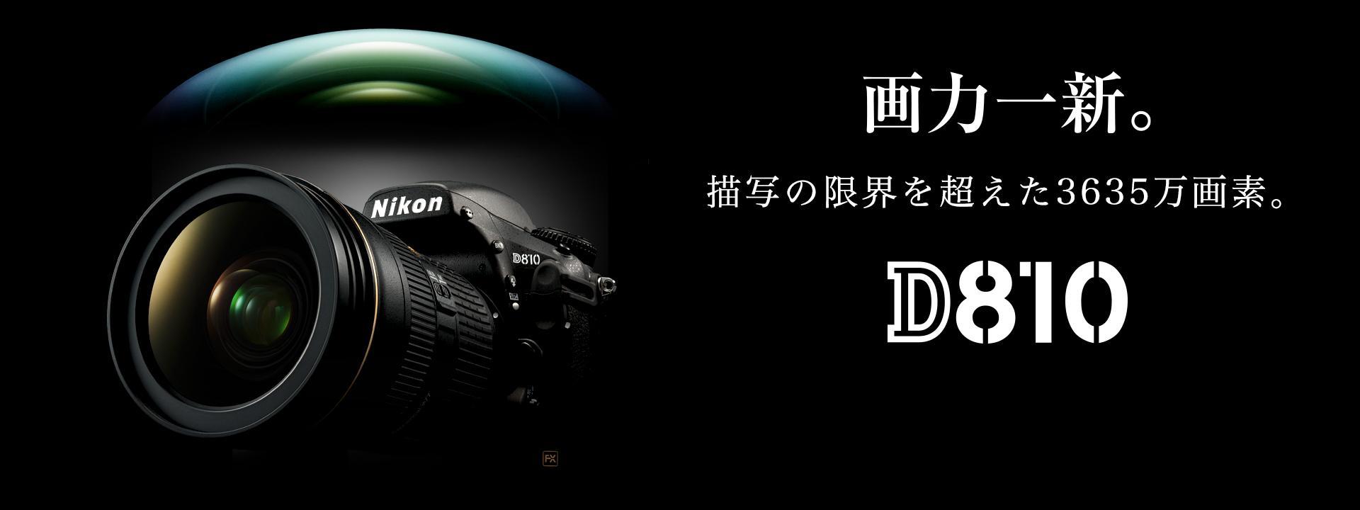 D810 宣伝広告