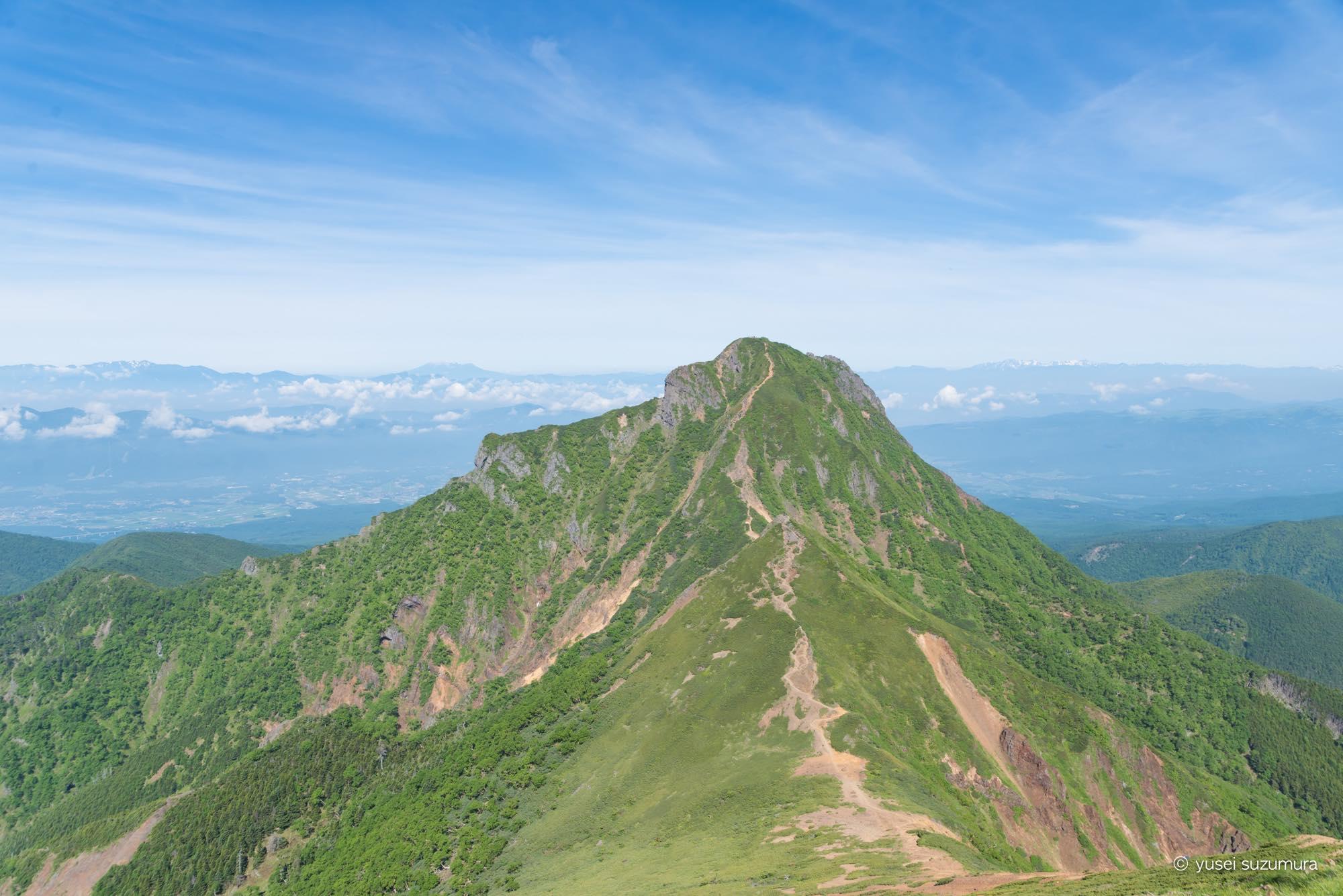 中岳から阿弥陀岳