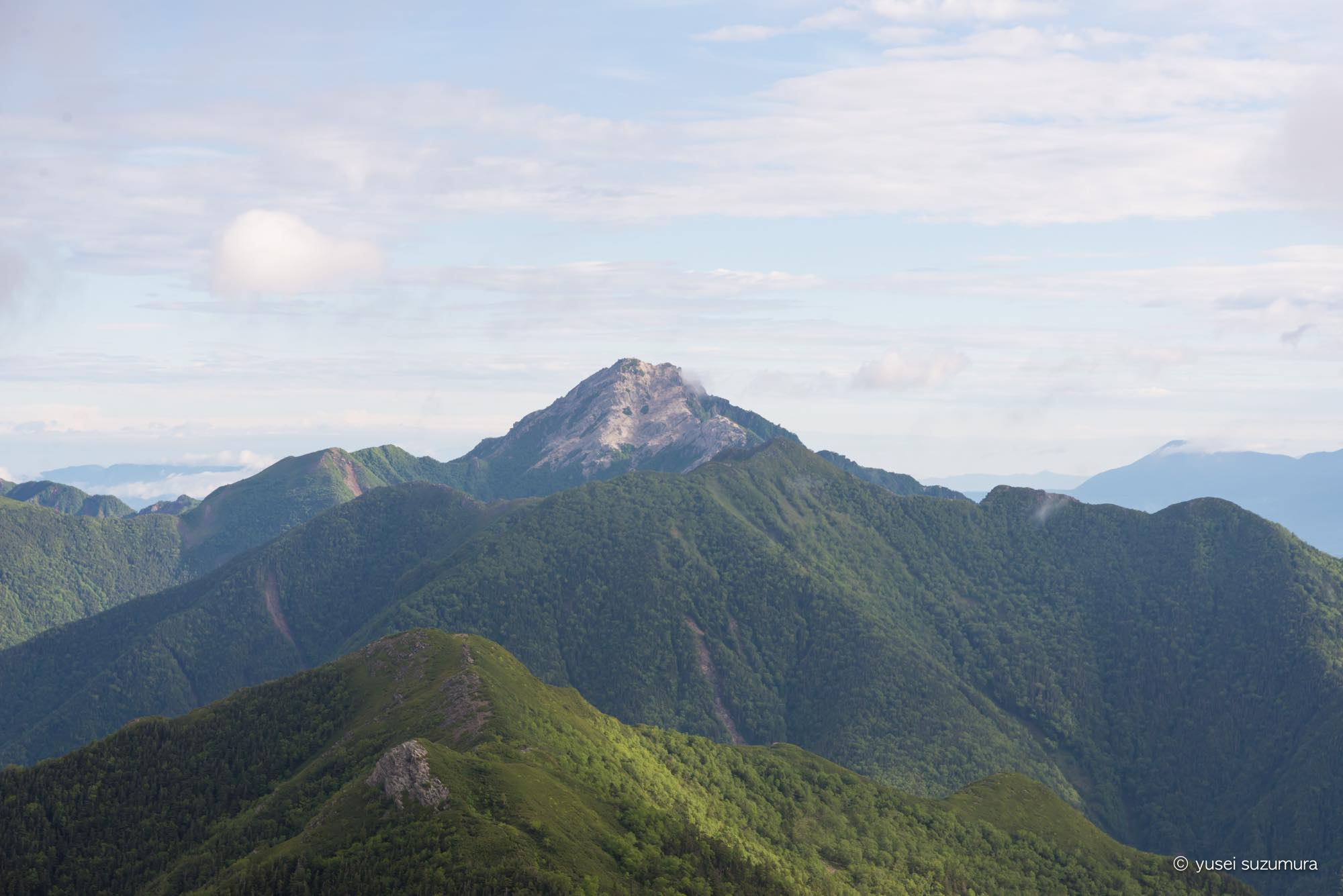 北岳 甲斐駒ケ岳