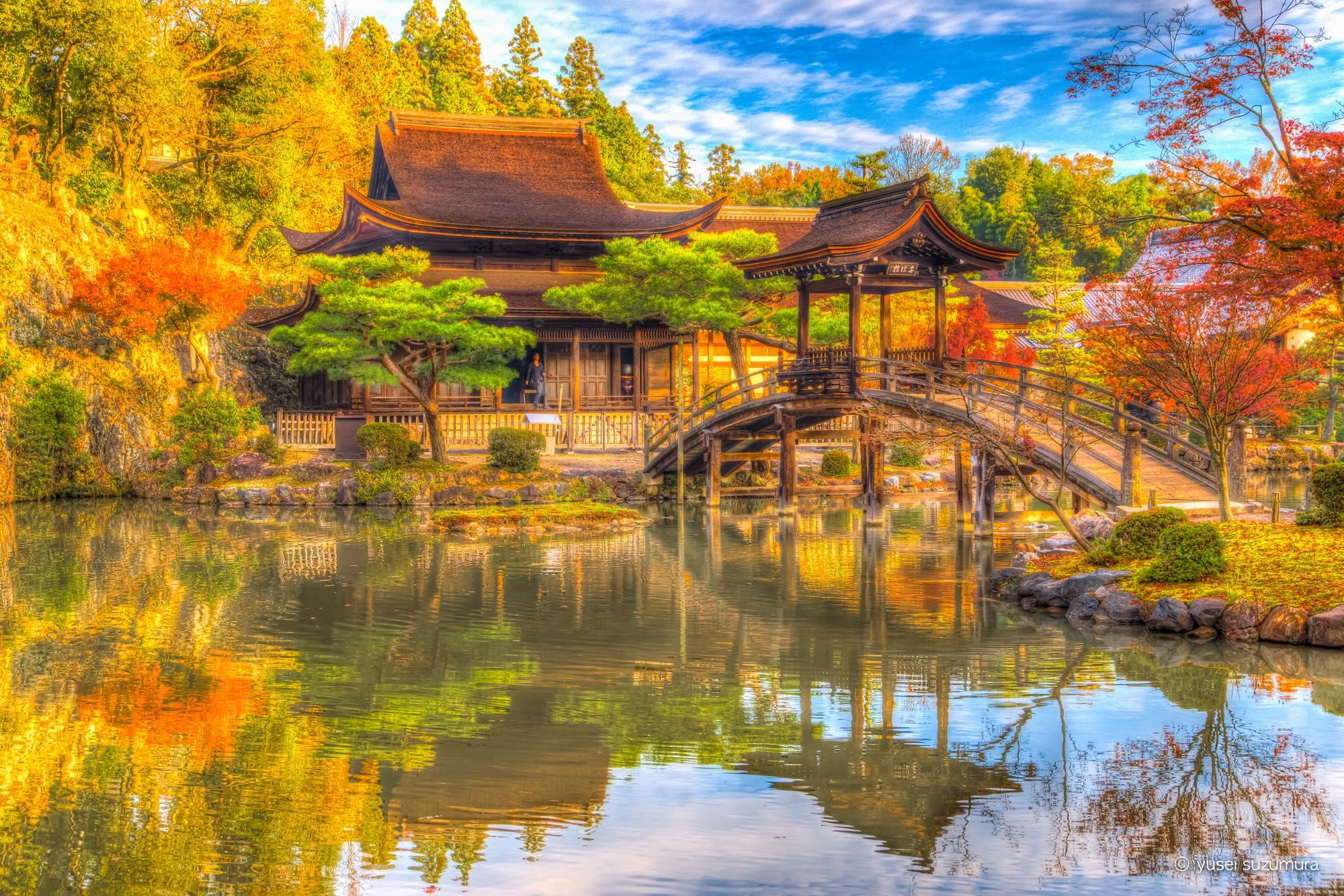 意外に身近にある絶景。多治見市の虎渓山永保寺で紅葉狩り。