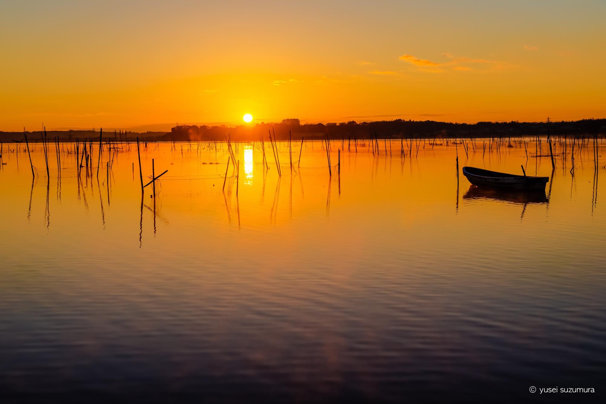 サンライズ 印旛沼