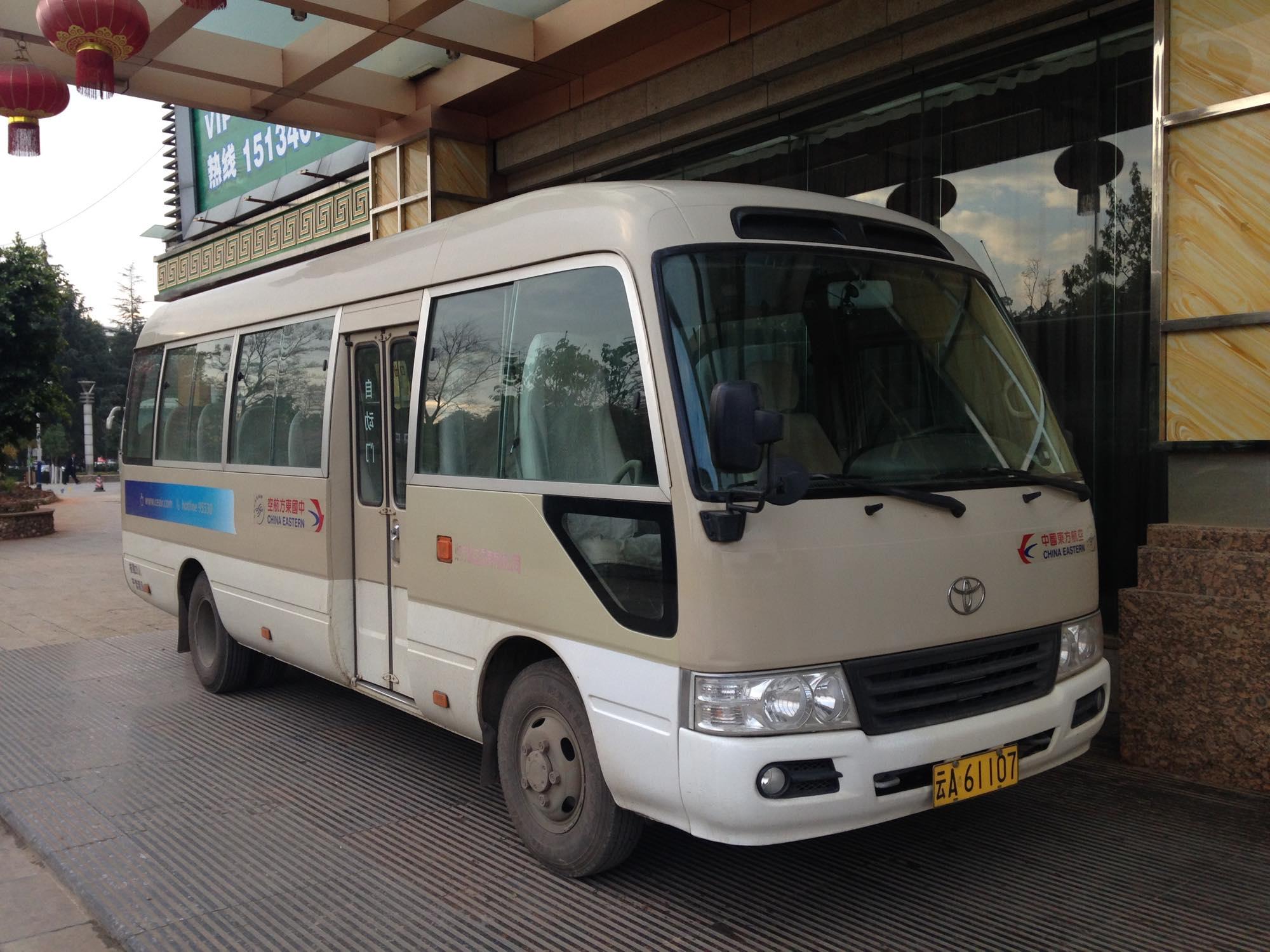 中国東方航空 バス