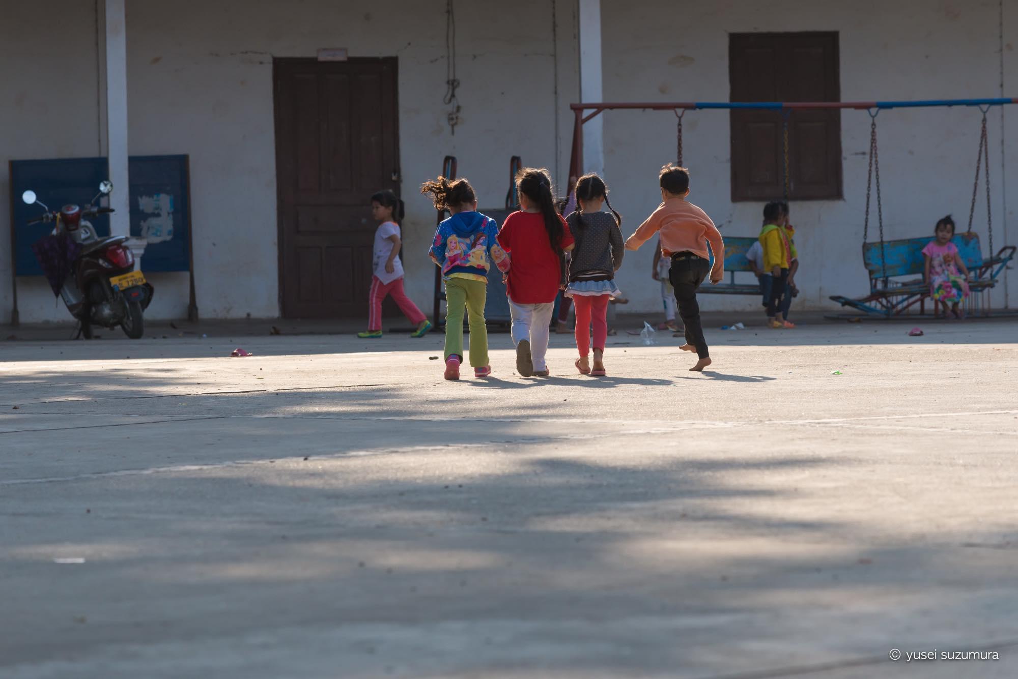 ルアンパバーン 学校