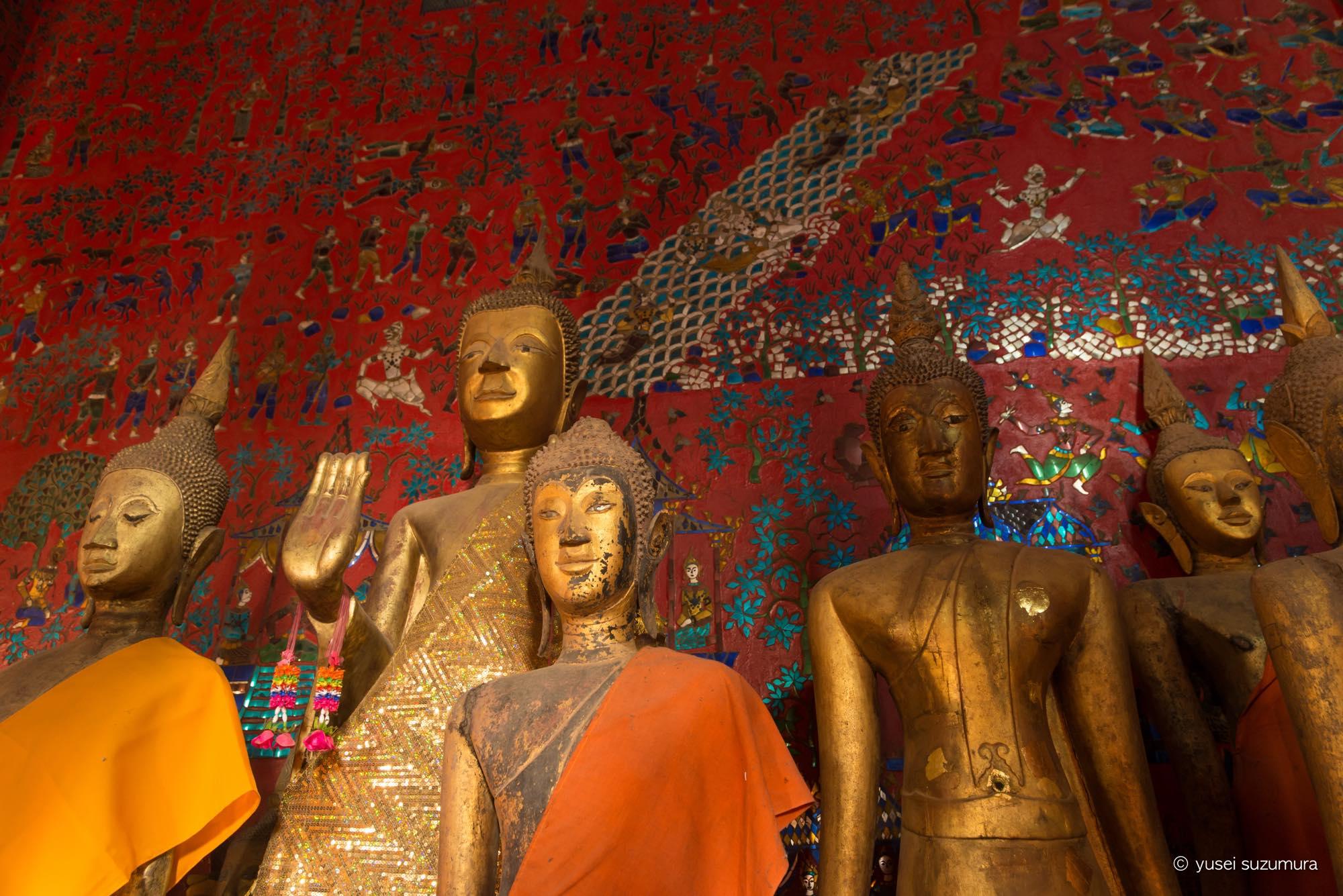 ワット・シェントーン 仏像