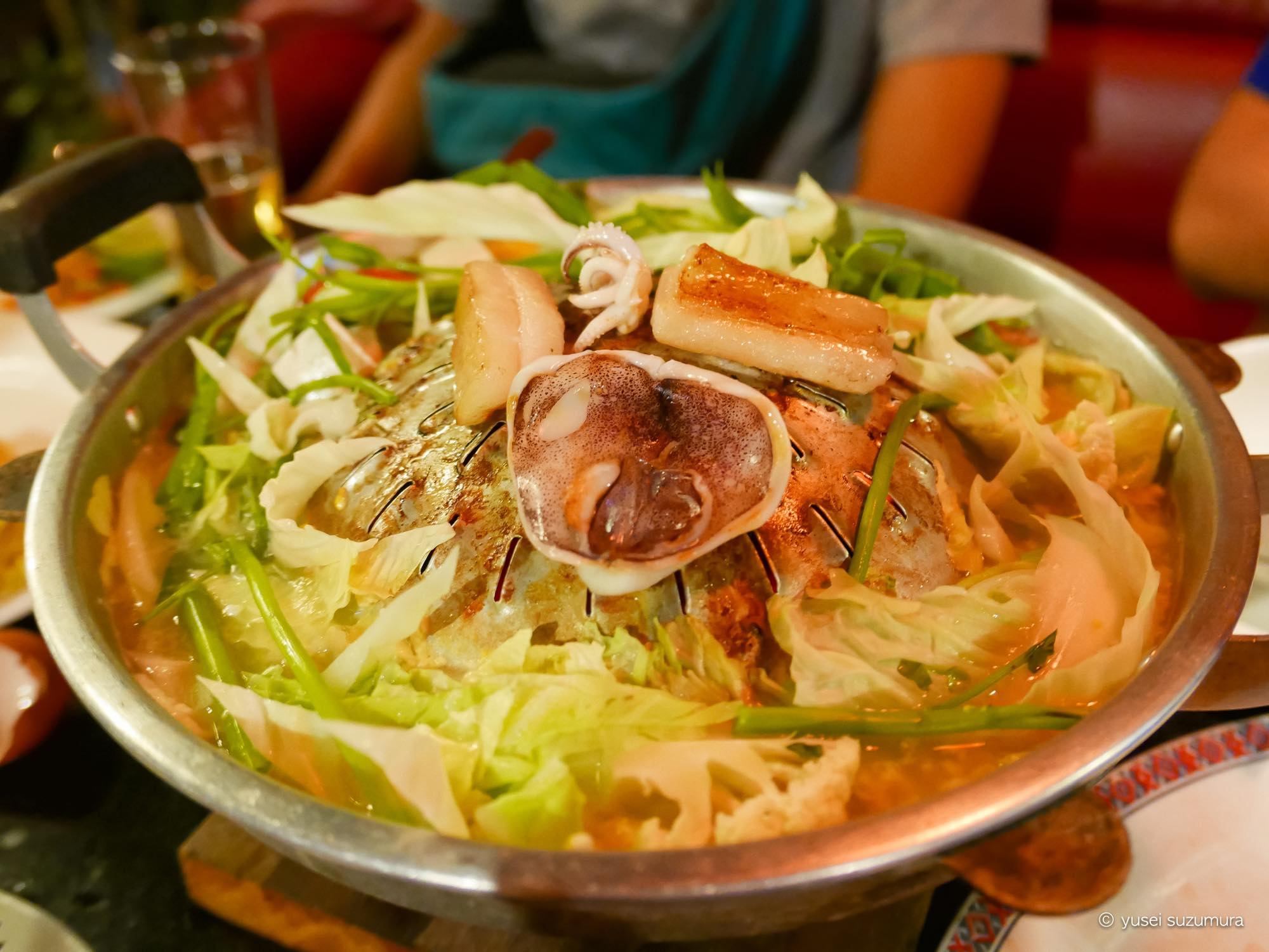 シンダート(ラオス式焼き肉)