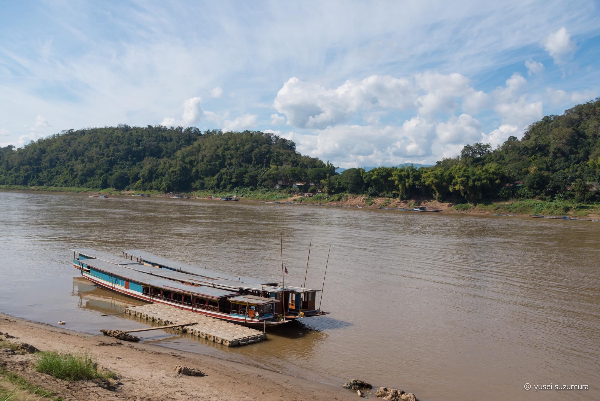 メコン川 サンセット