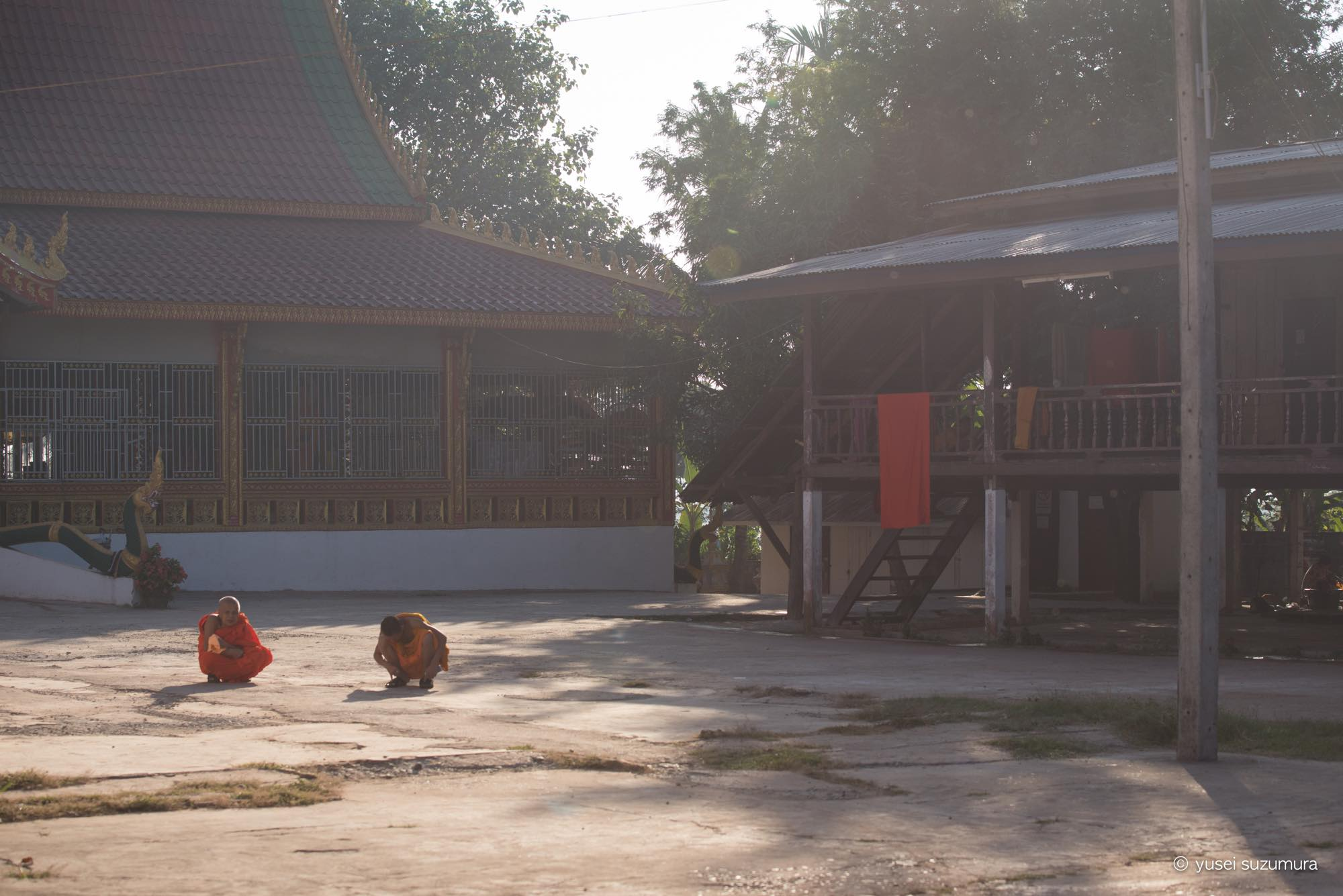 ヴィエンチャン 僧侶