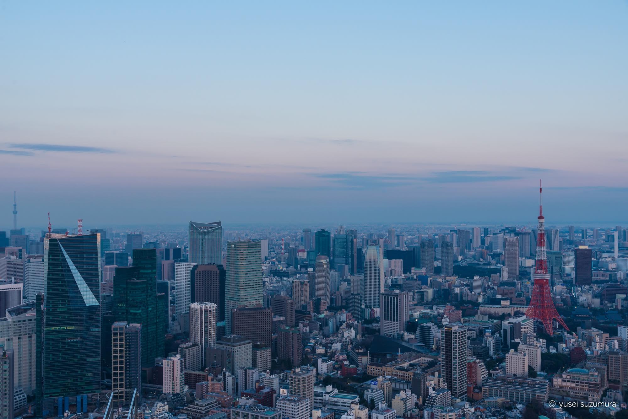 東京シティービュー 撮影