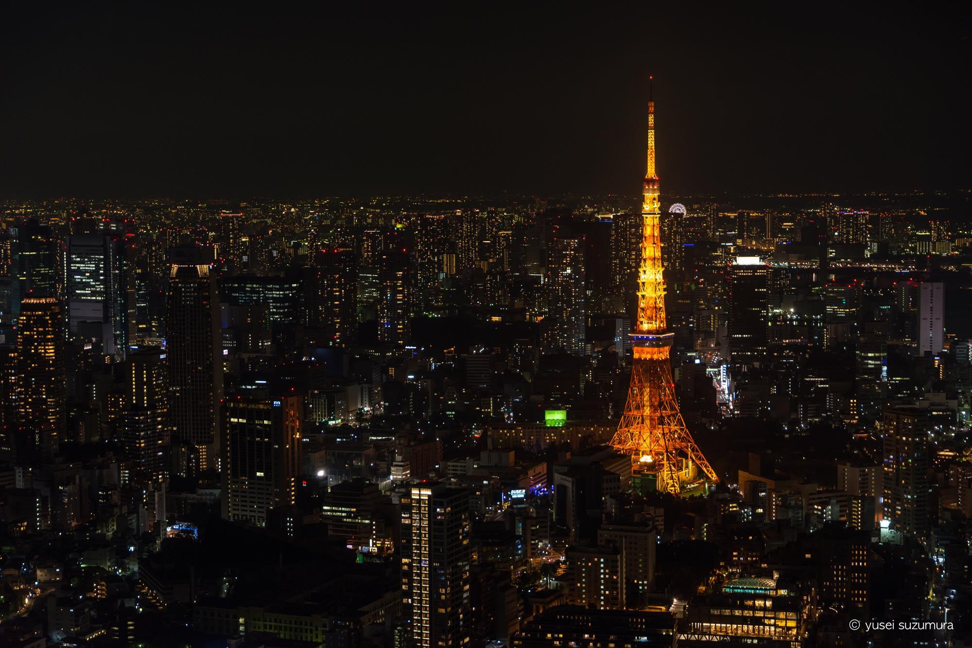 東京シティービュー 写真撮影