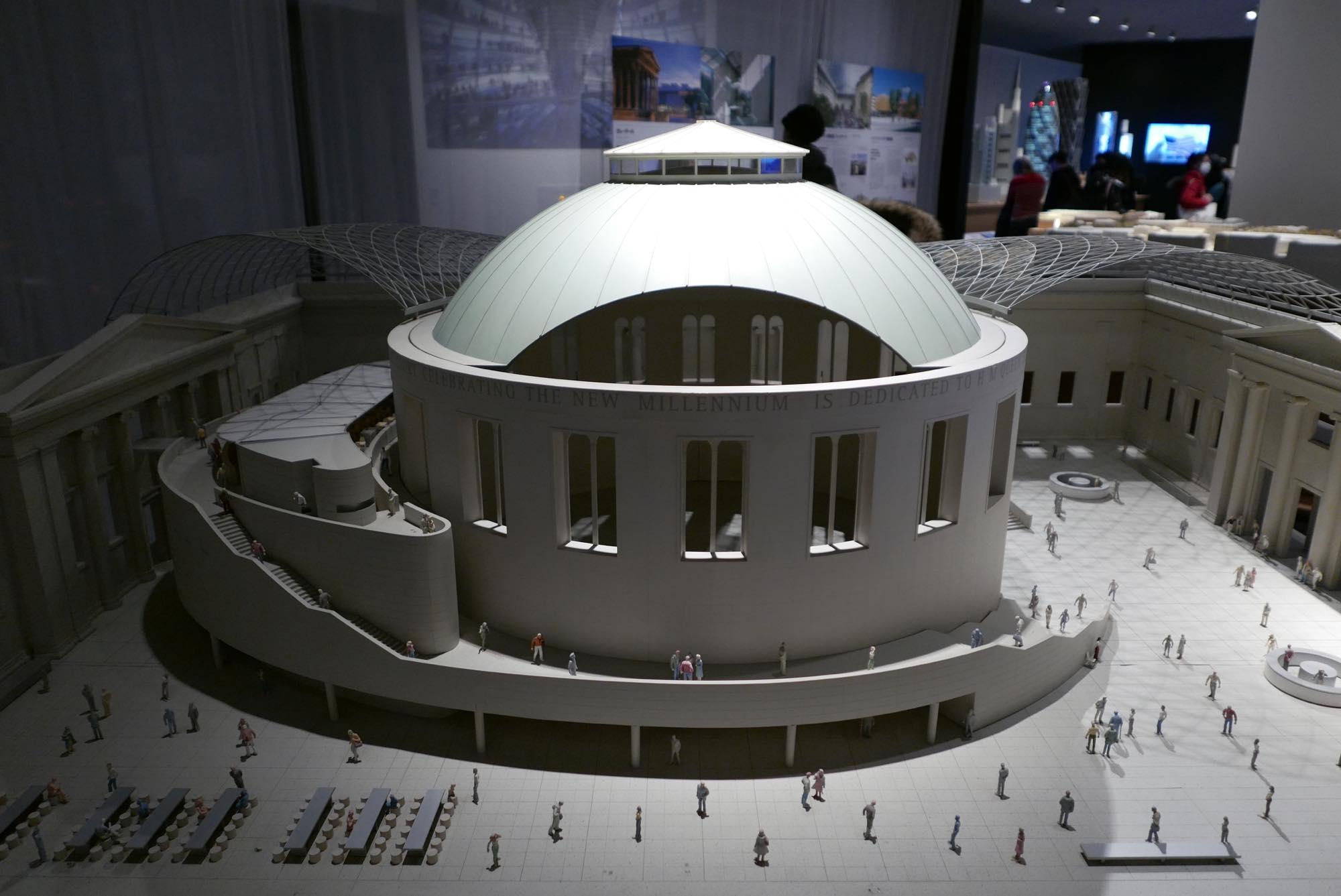 ノーマン・フォスター 建築模型