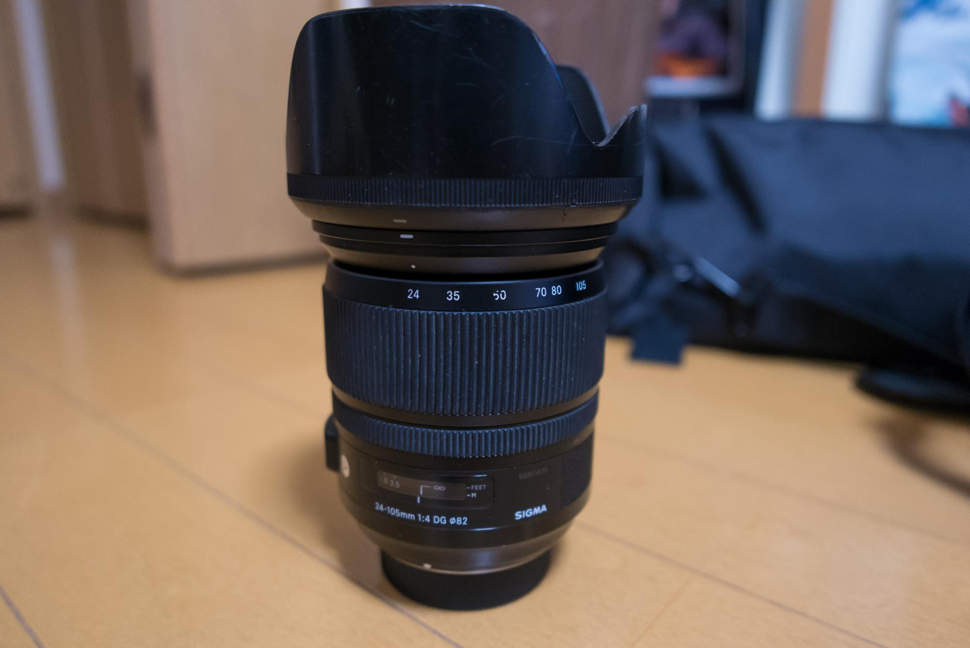 sigma art 24-105mm 本体