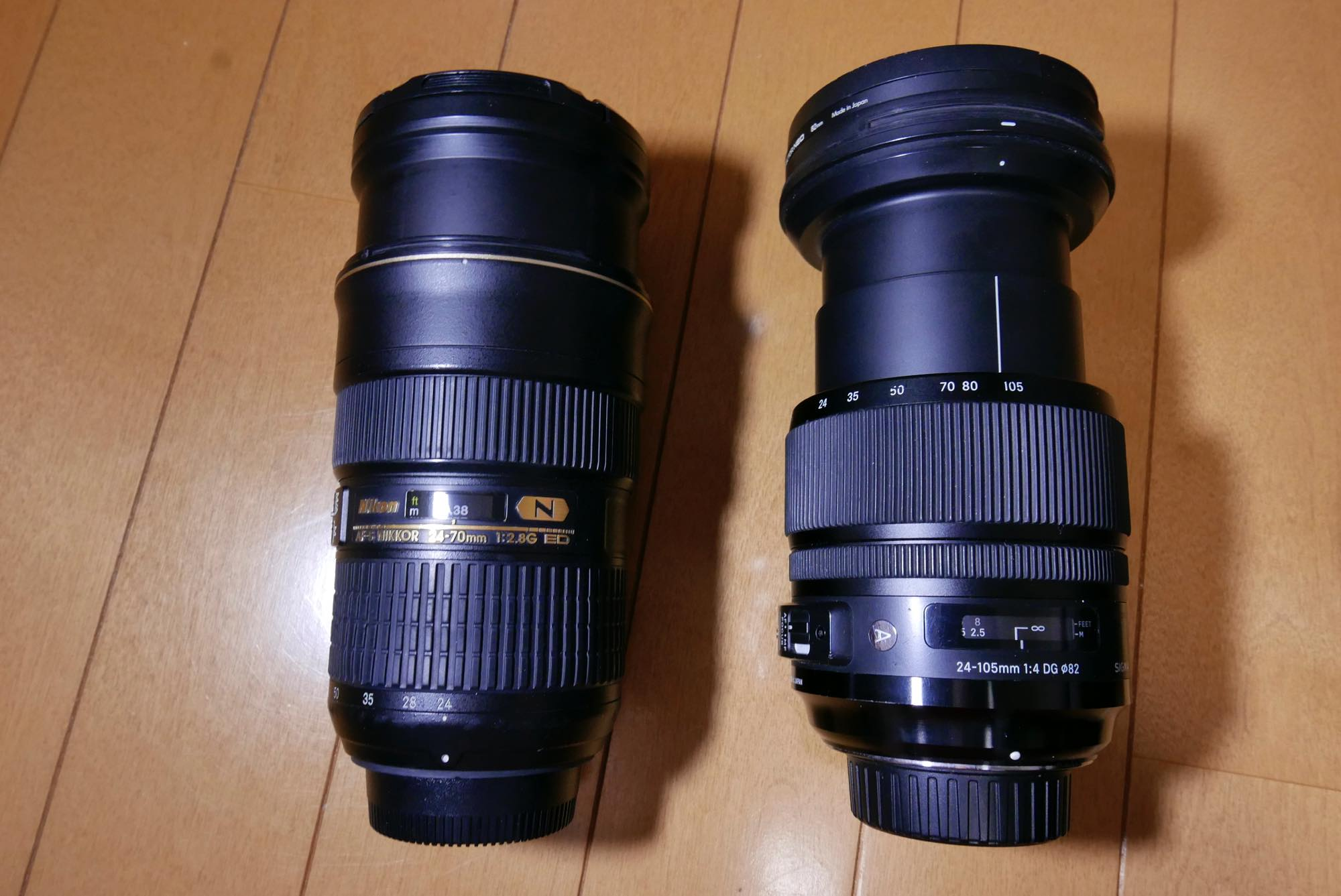 NIKKOR 24-70mm f/2.8E ED SIGMA art