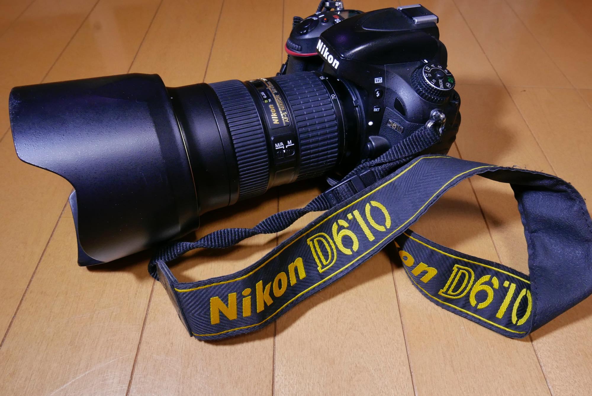 NIKKOR 24-70mm f/2.8E ED D610