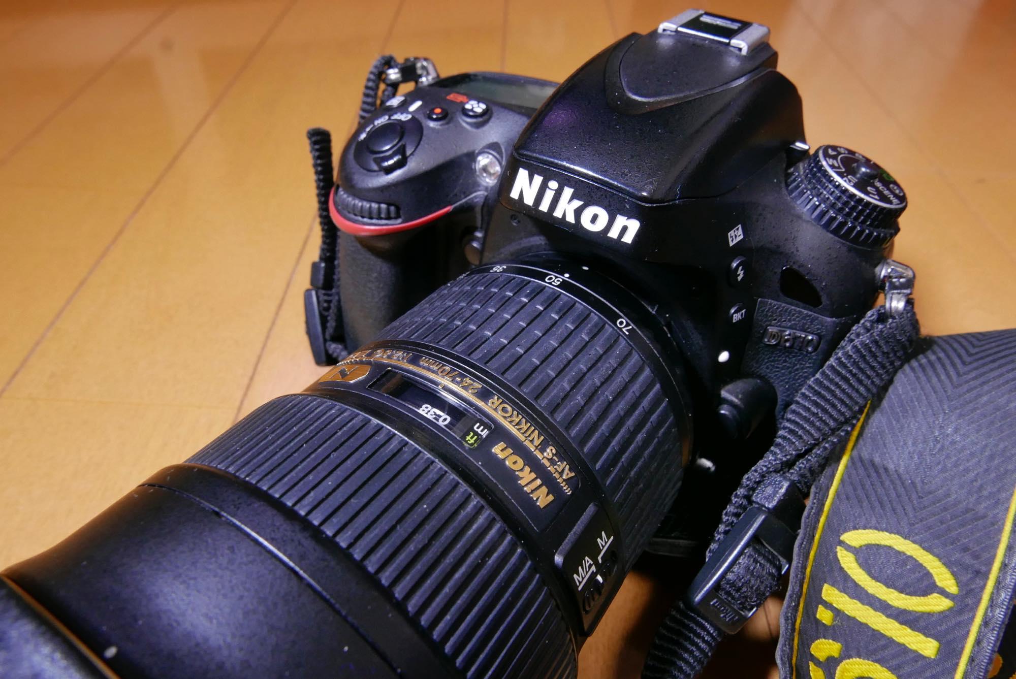 大三元が我が家にやってきた!Nikkor 24-70mm f/2.8G ED購入!