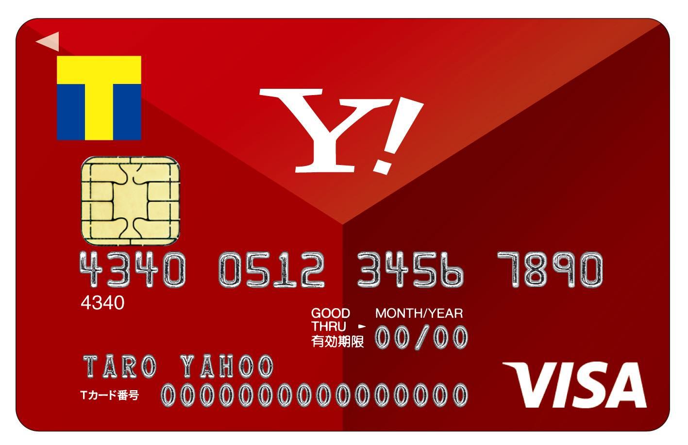 Yahoo! JAPANカード 赤