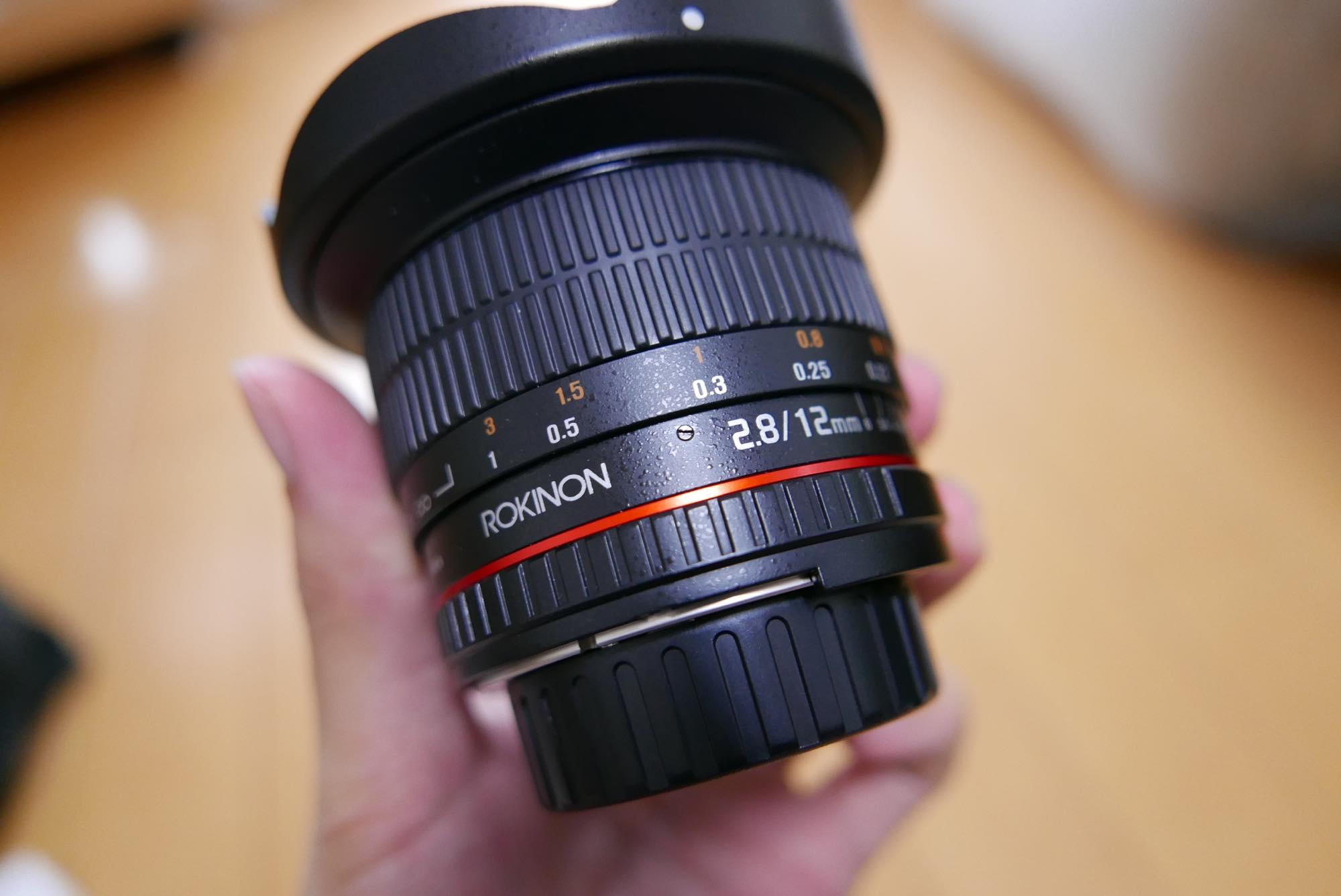 Rokinon 12mm F2.8 フィッシュアイ