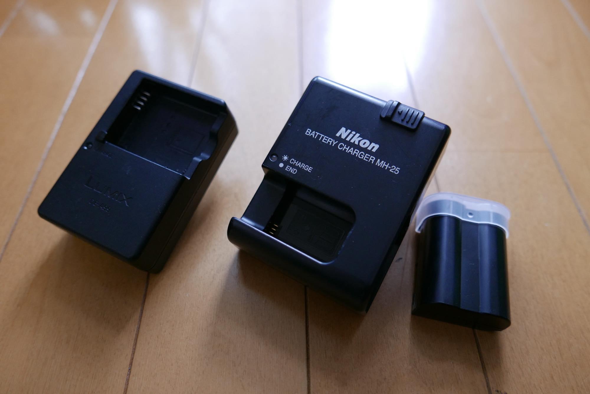 充電器 バッテリー