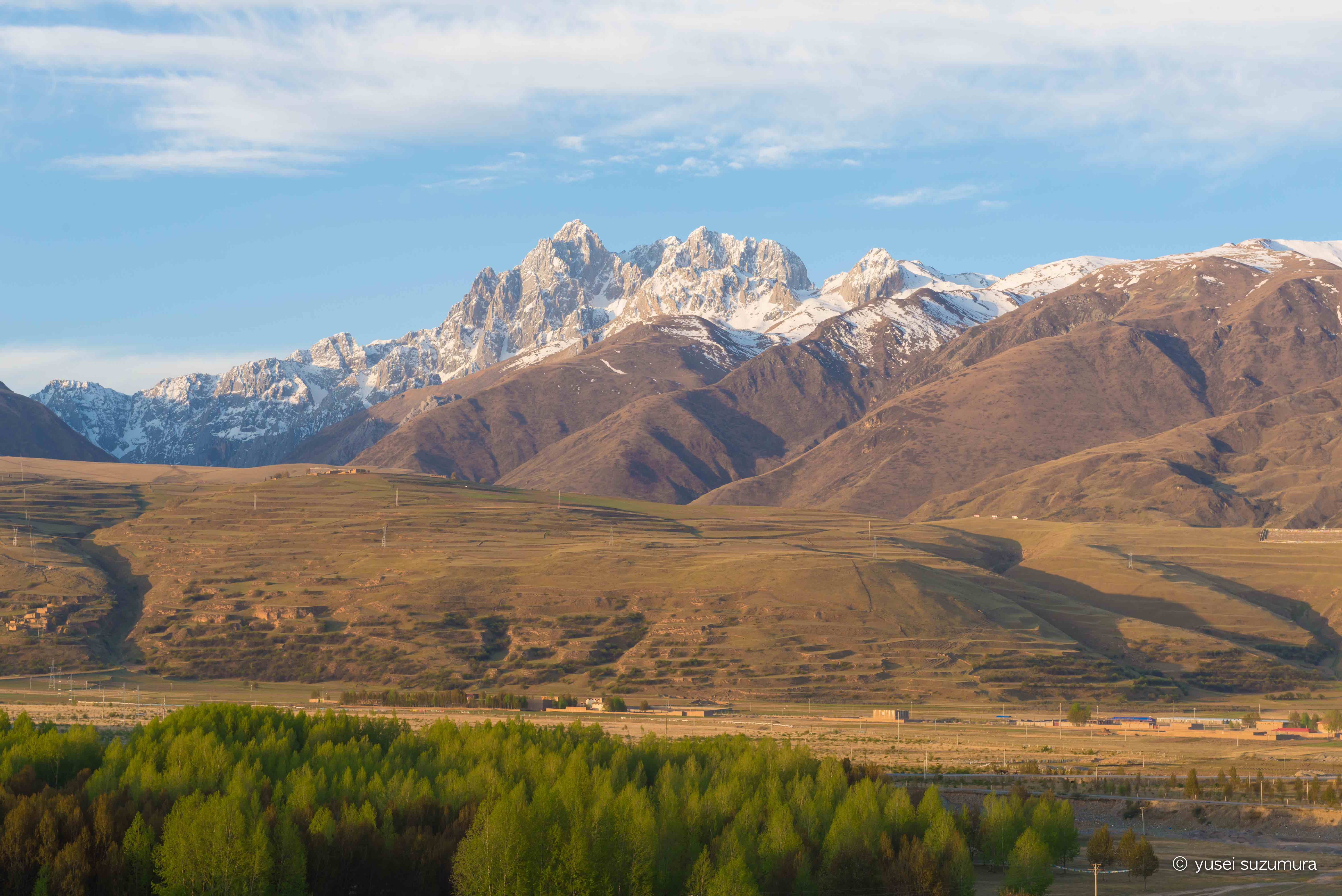 甘孜 山と川