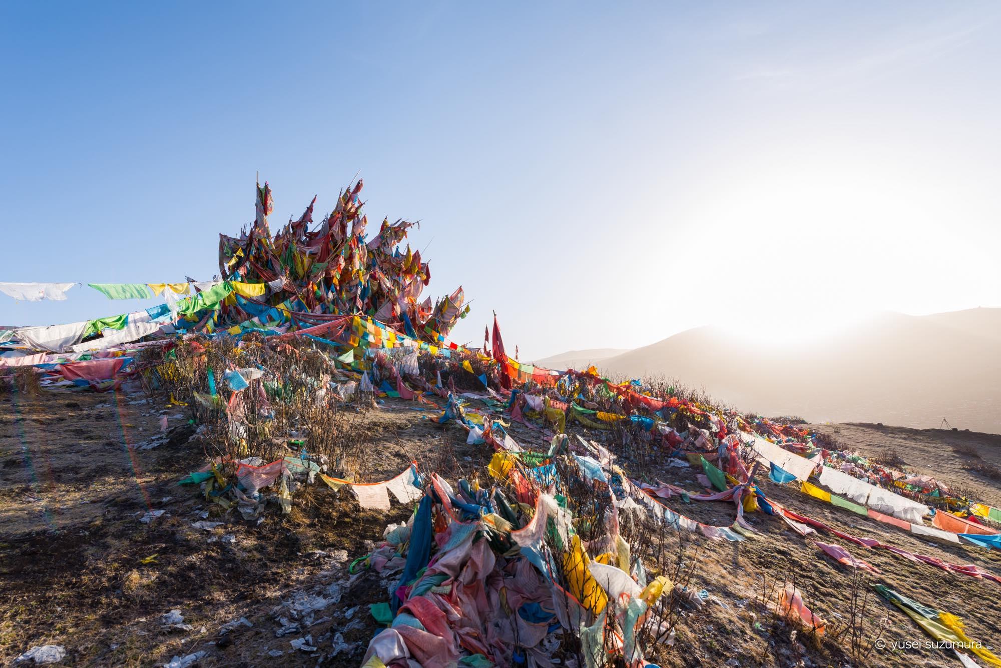 タルチョ 東チベット