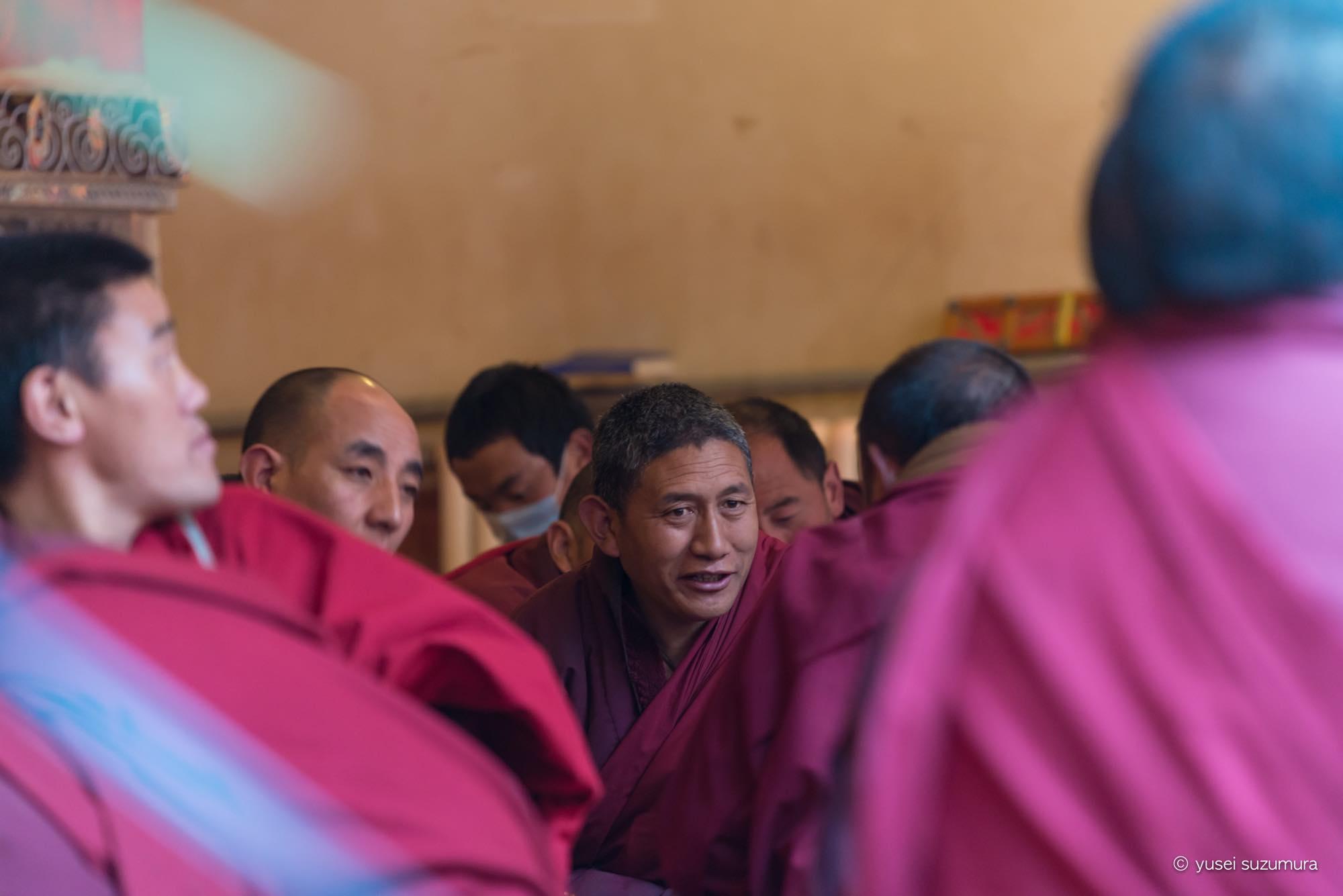 ラルンガルゴンパ 僧院