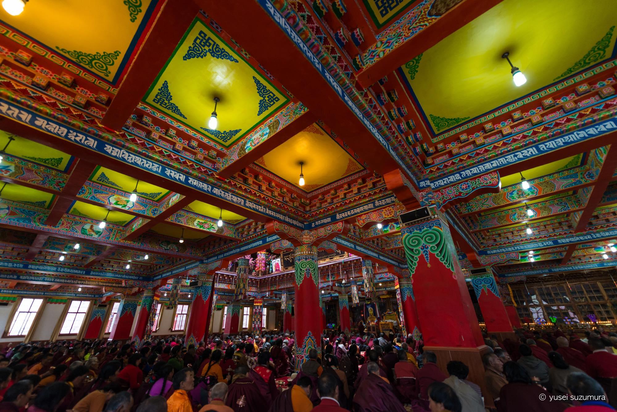 ラルンガルゴンパ 寺院