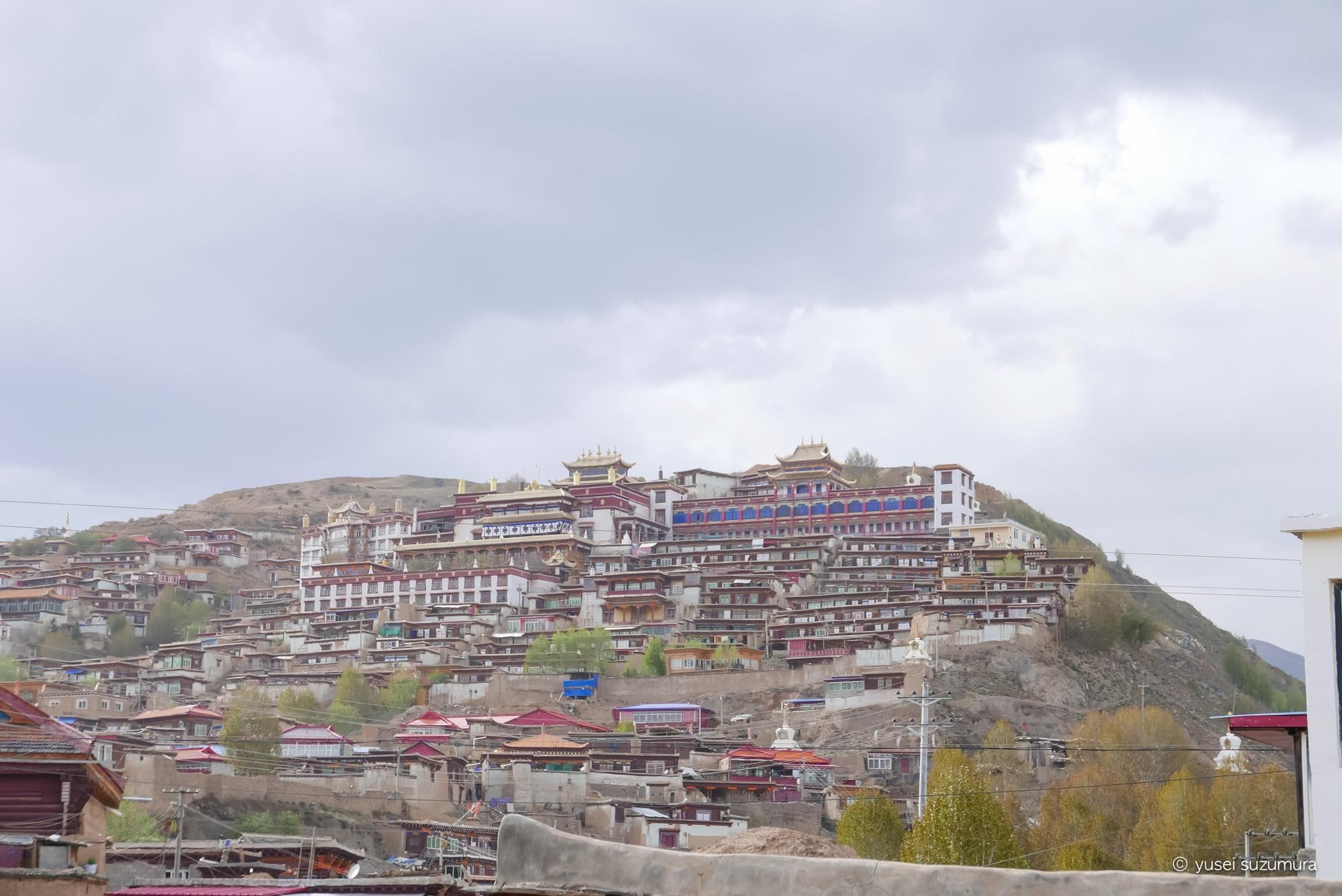 甘孜寺 全景