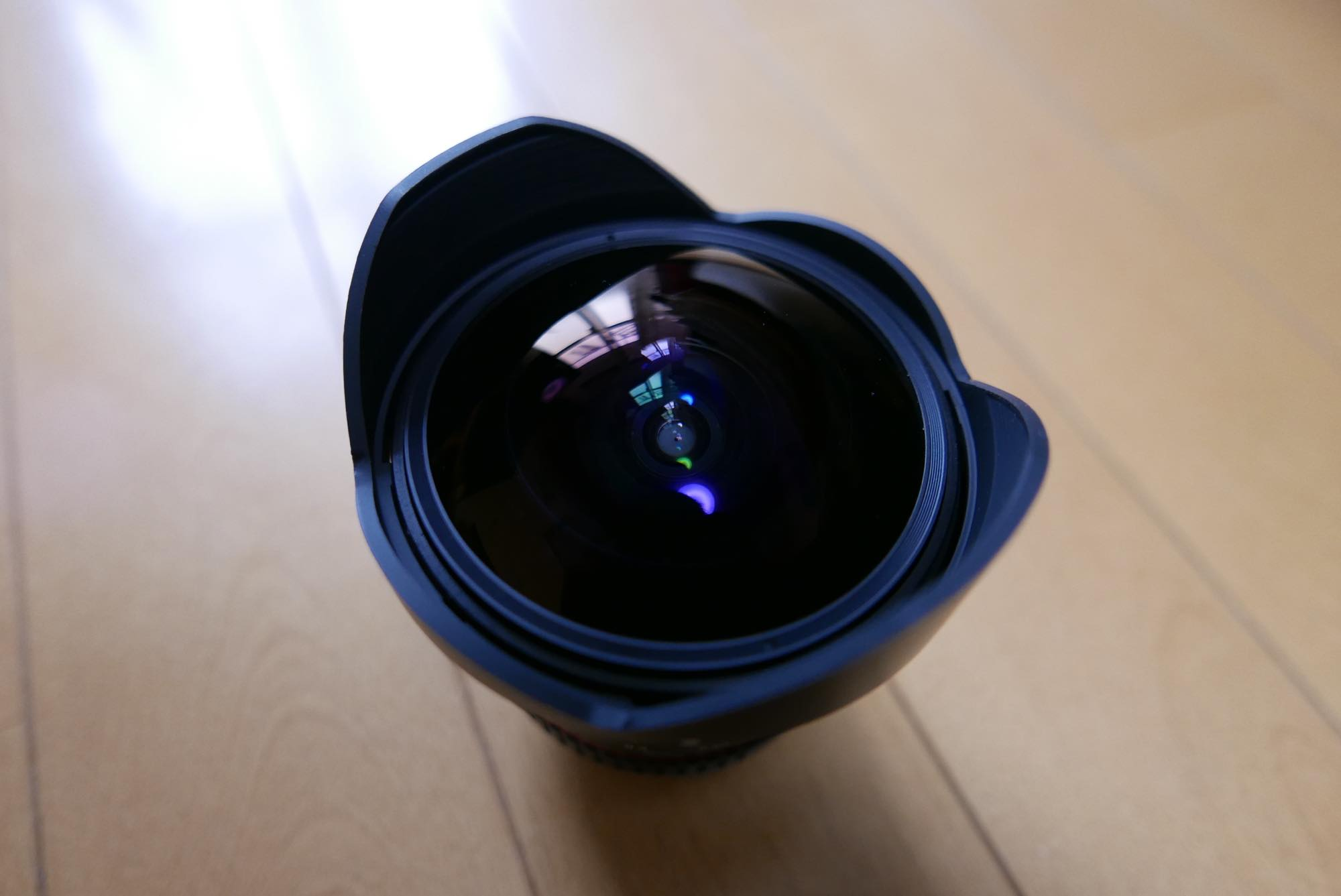 12mm F2.8 ED AS NCS FISH-EYE samyang rokinon 前玉