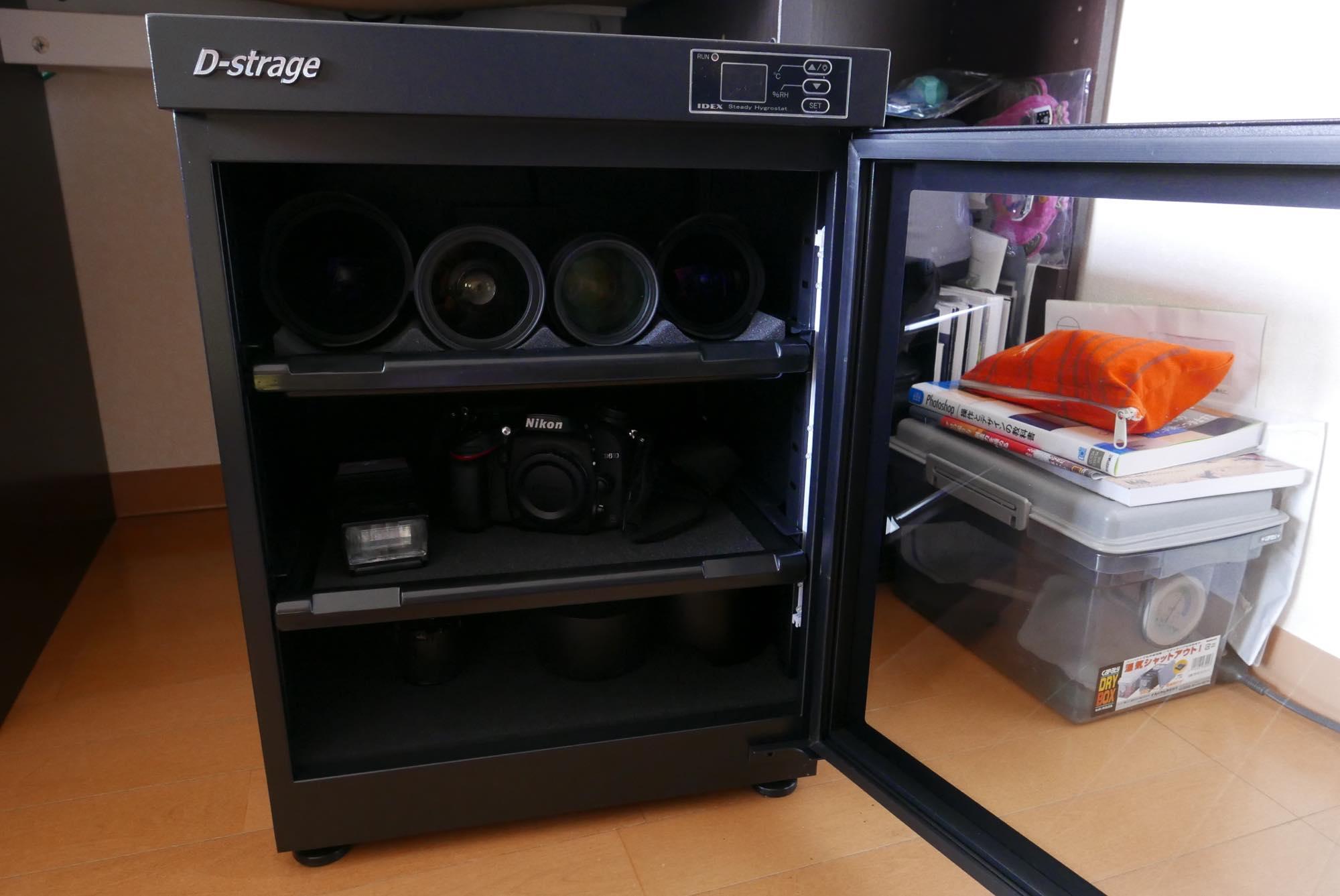 安くて手軽にカメラとレンズをカビから守れる!IDEX DS-63Mを購入!