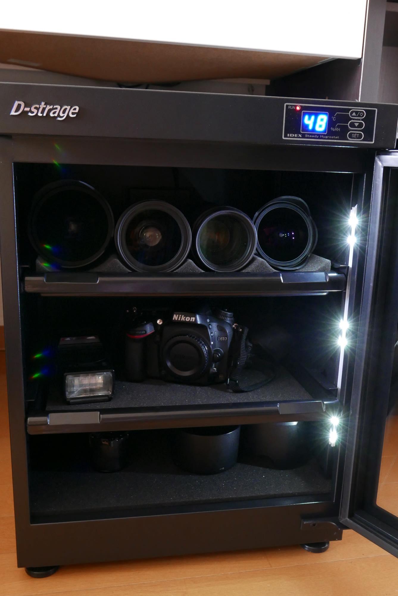 防湿庫 カメラ