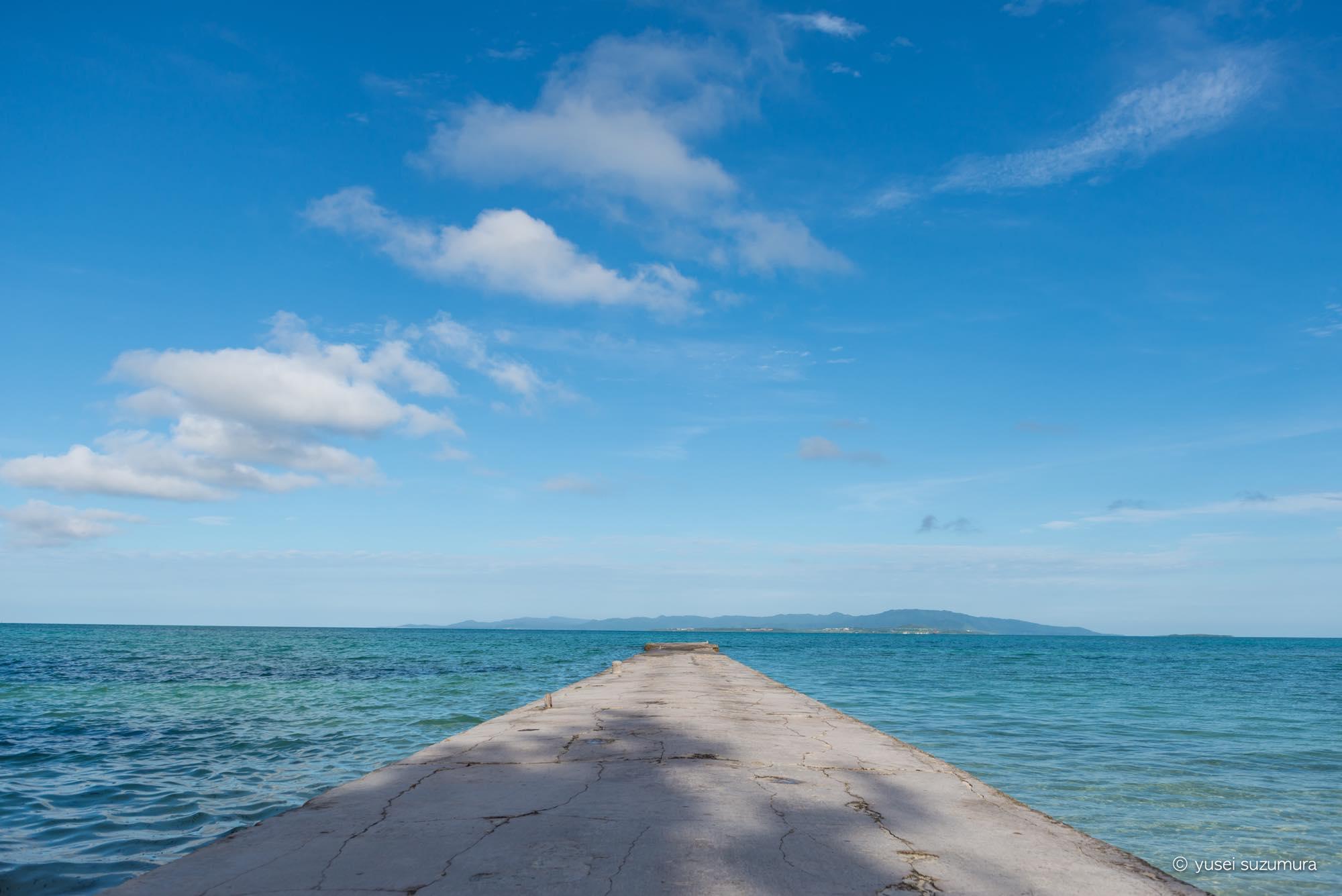 沖縄の離島はやっぱり素晴らしい。