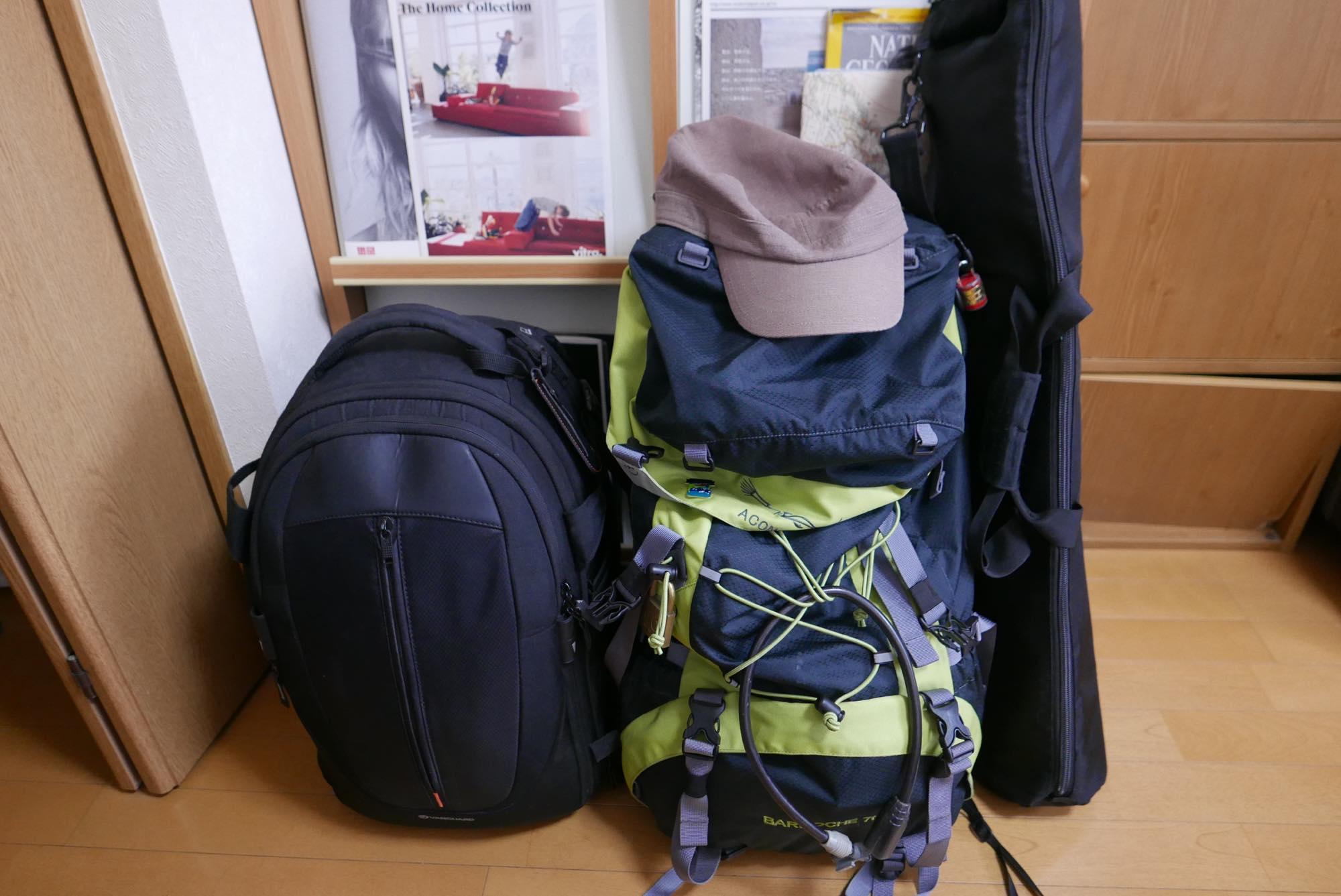 ガチで写真が趣味で一週間程度旅するバックパッカーの持ち物リスト〜その2〜