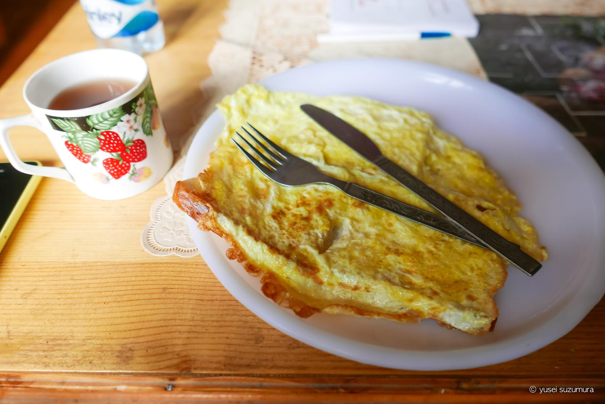 THARPALING GUESTHOUSE  朝食