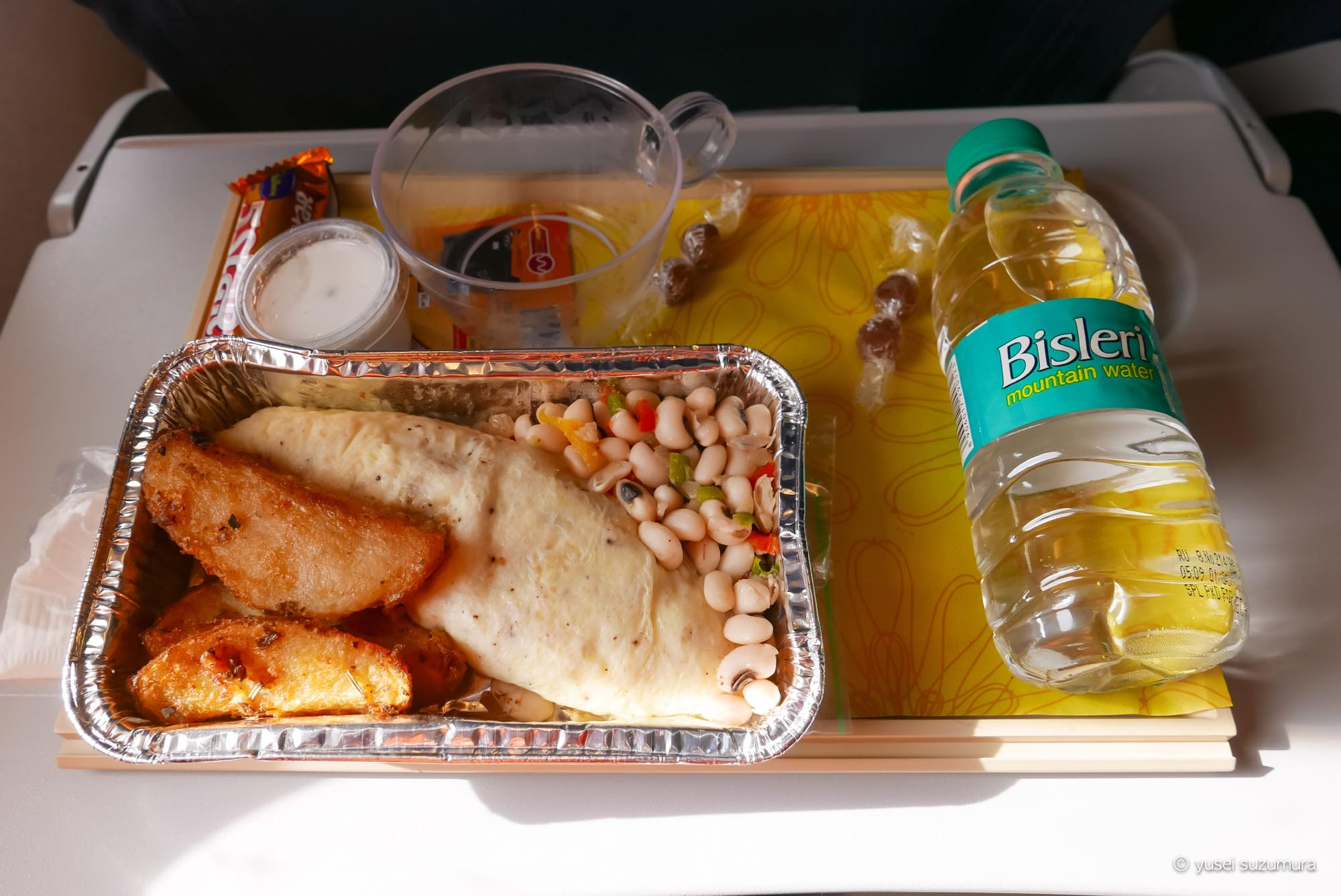 Jetairways 機内食