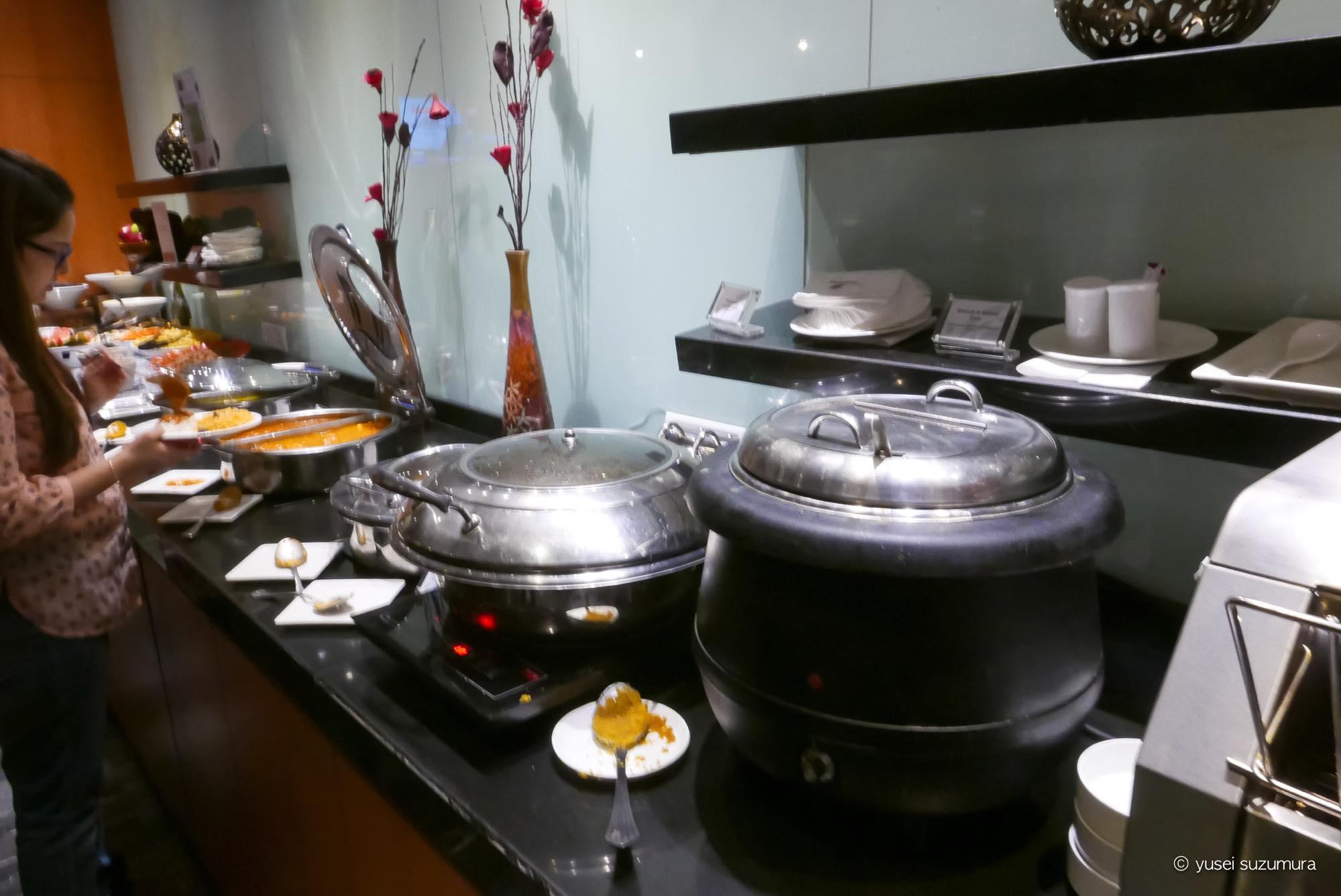 プレミアムラウンジ 軽食