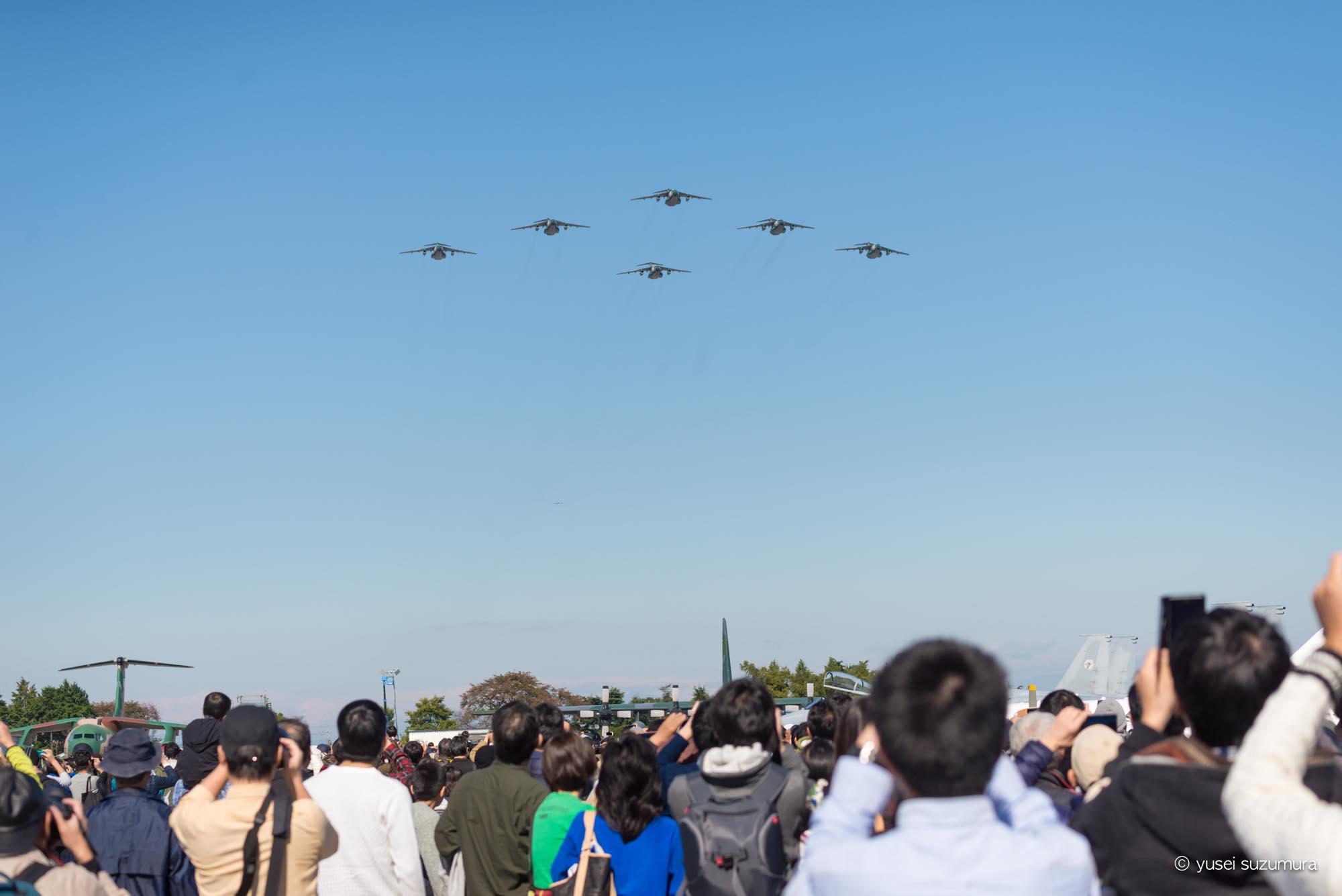 航空自衛隊 観客