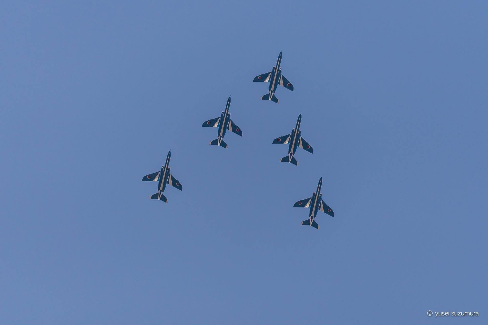 ブルーインパルス 展示飛行