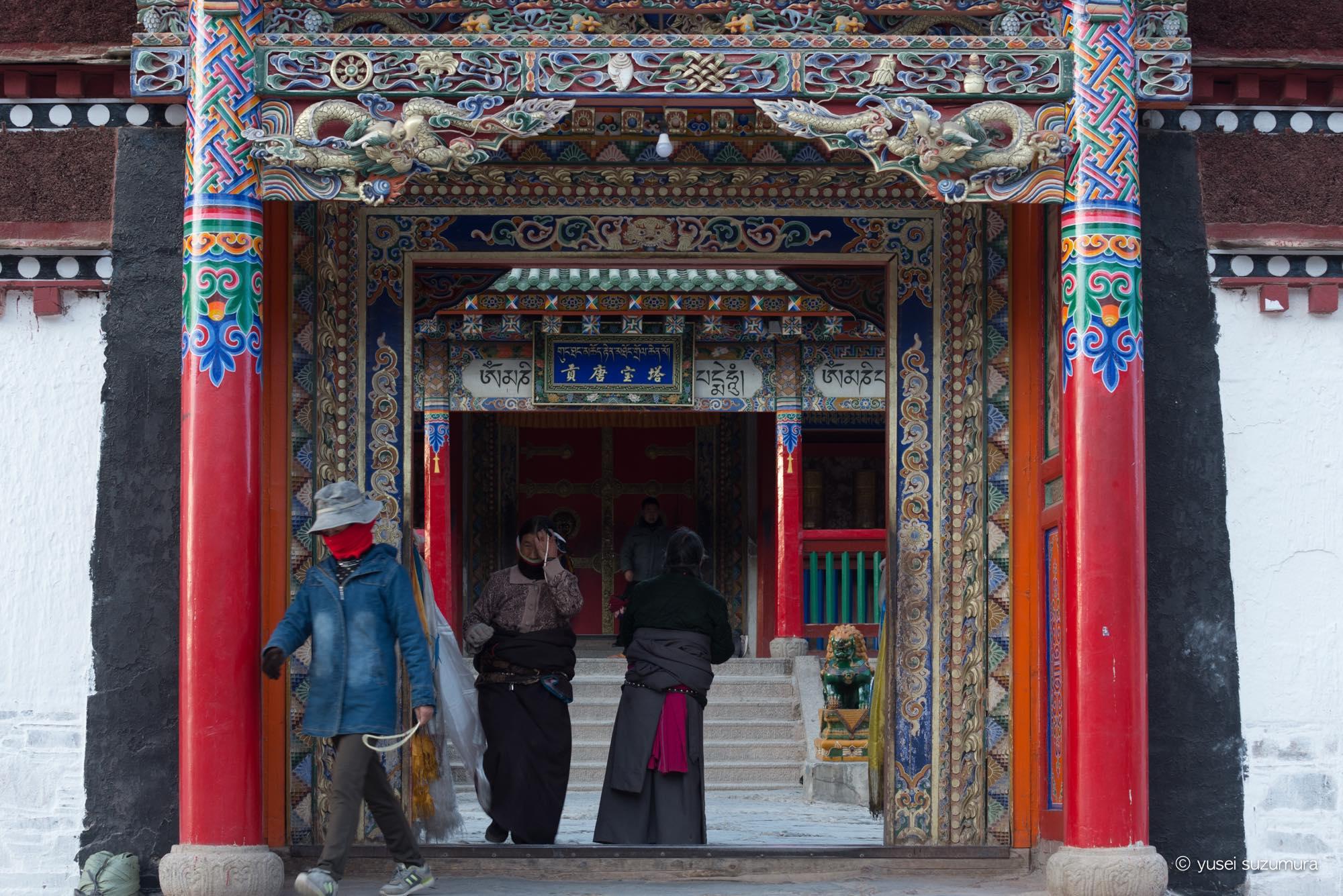 ラプラン寺一日観光。様々な巡礼の形を垣間見る。