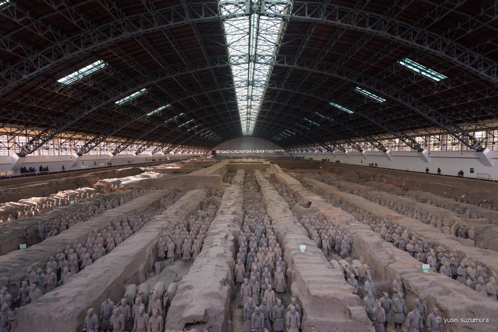 中国・西安の世界遺産、兵馬俑に行ってきた。